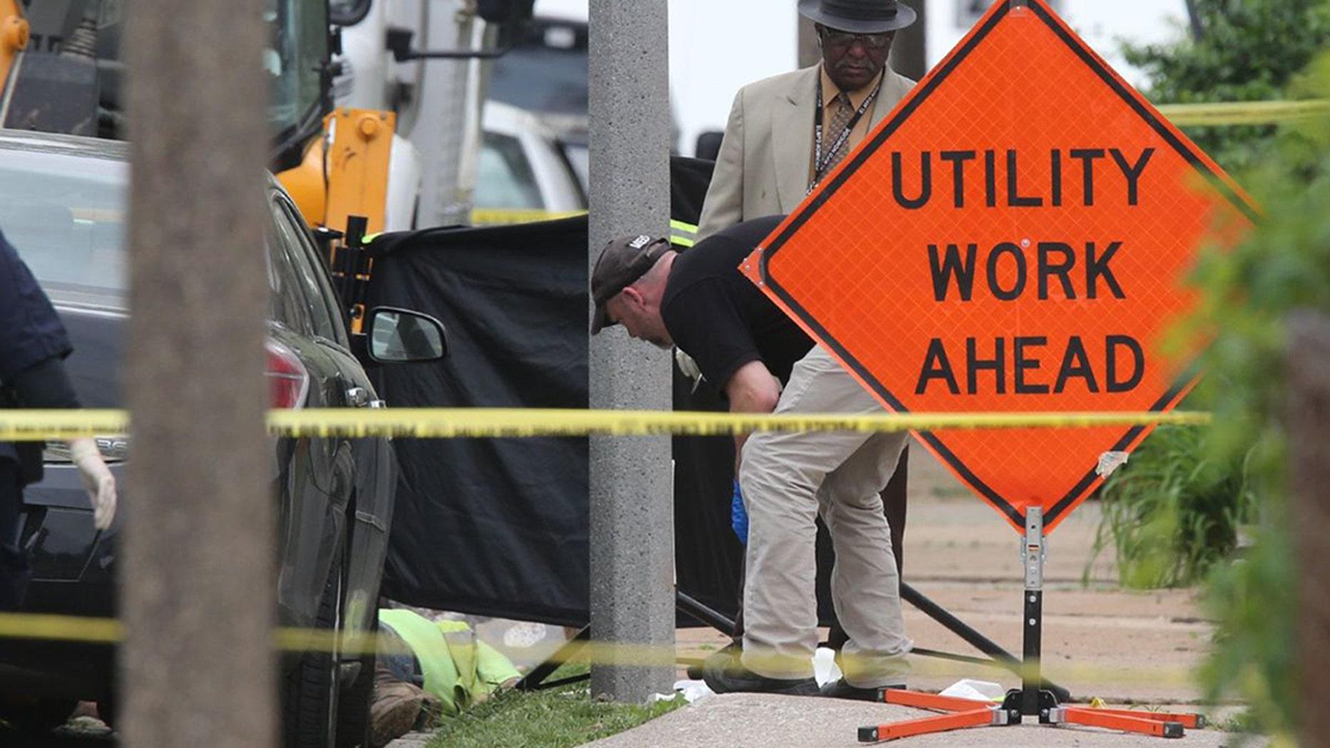 St Louis Gunman Kills Two Gas Company Workers Then Himself Fox News