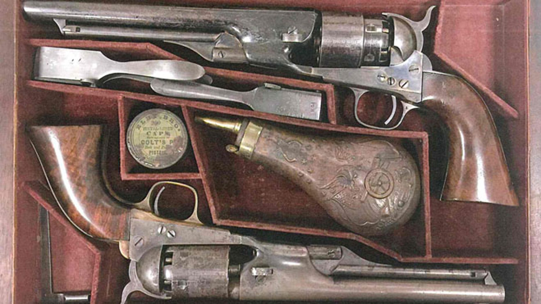 Simon Cameron guns stolen in 2016 from the National Civil War Museum in Harrisburg, Pa.