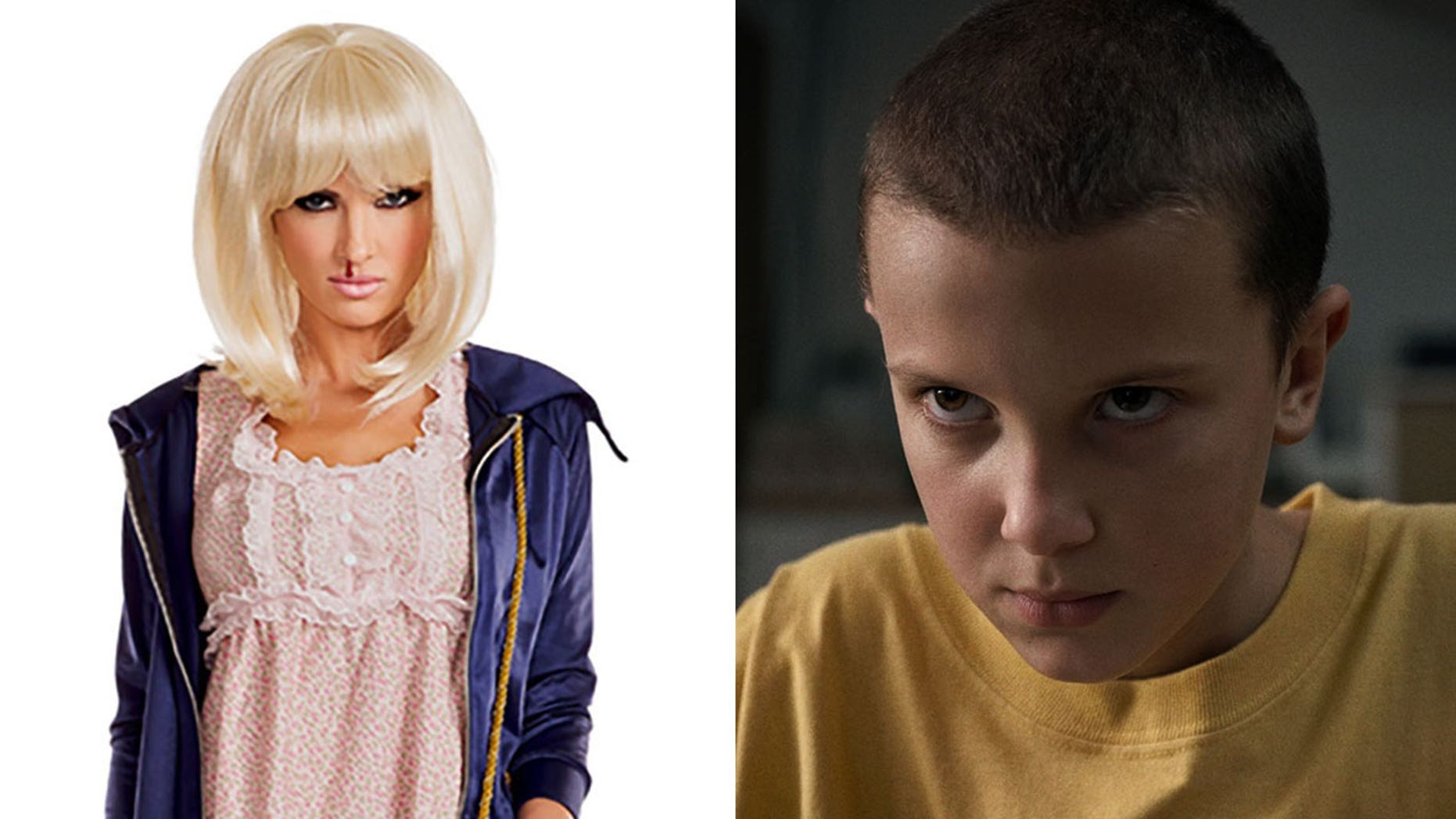 """""""Stranger Things"""" fans are not happy with this costume."""