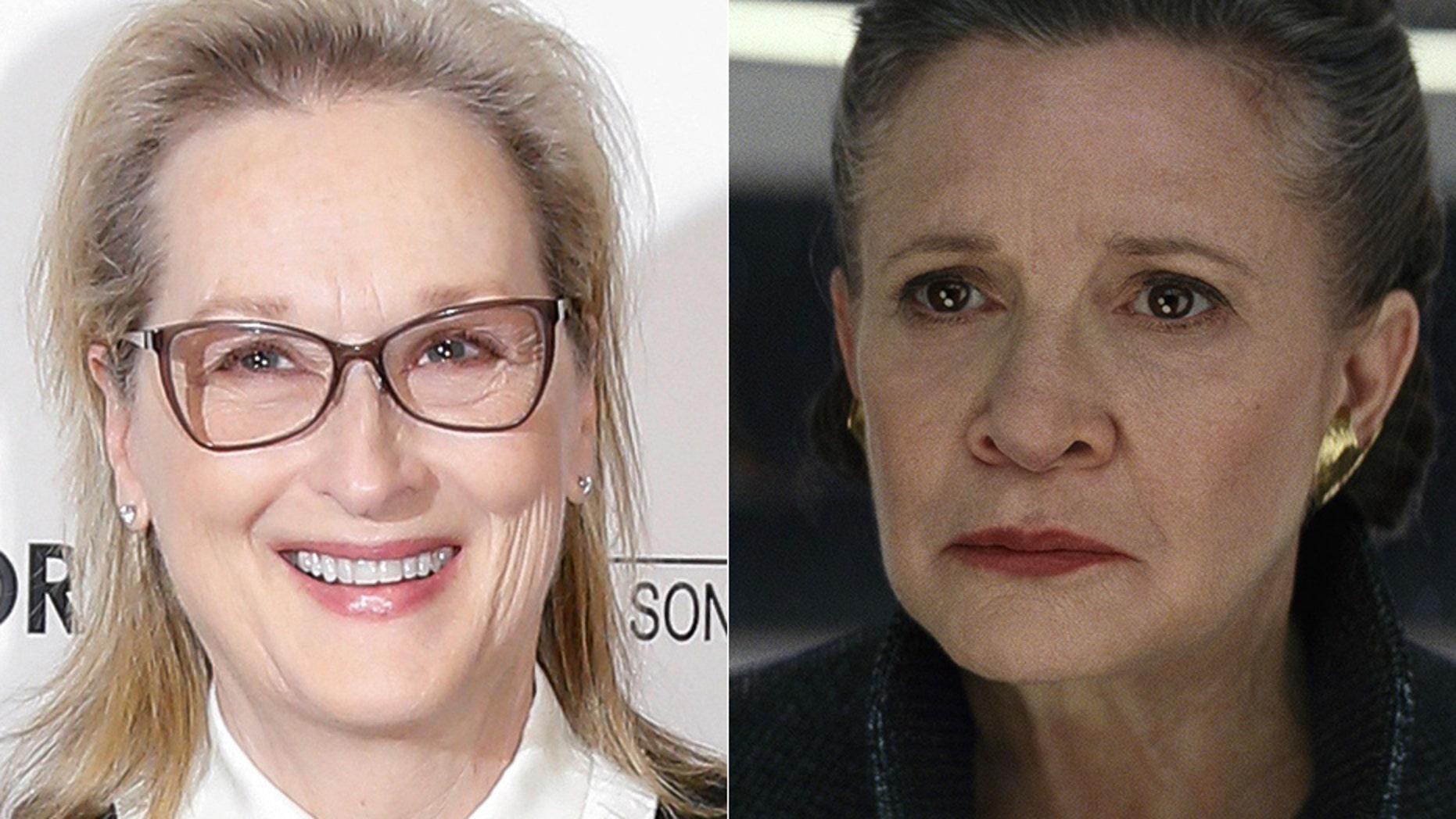 "An online petition wants Oscar-winning actress Meryl Streep to play Princess Leia in ""Star Wars: Episode IX."""