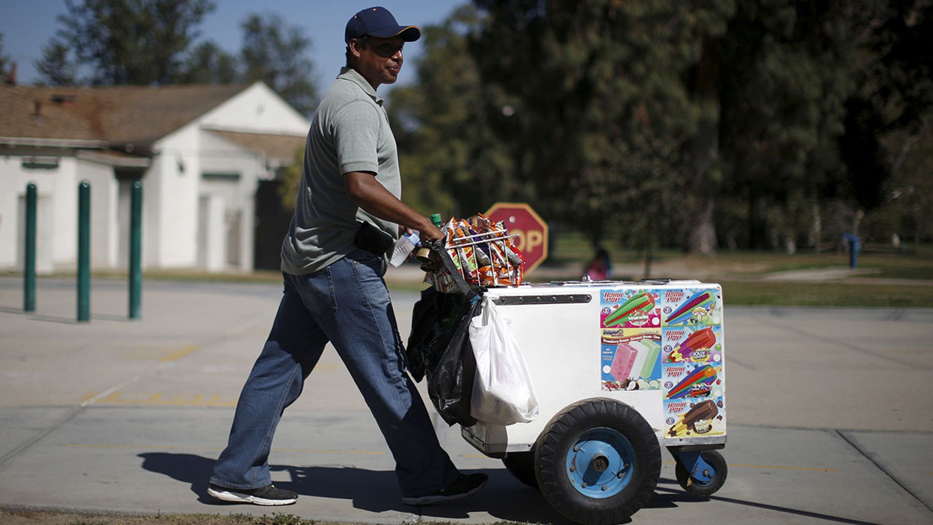 Street vendors in Los Angeles are not legally allowed to sell food on public streets and sidewalks.
