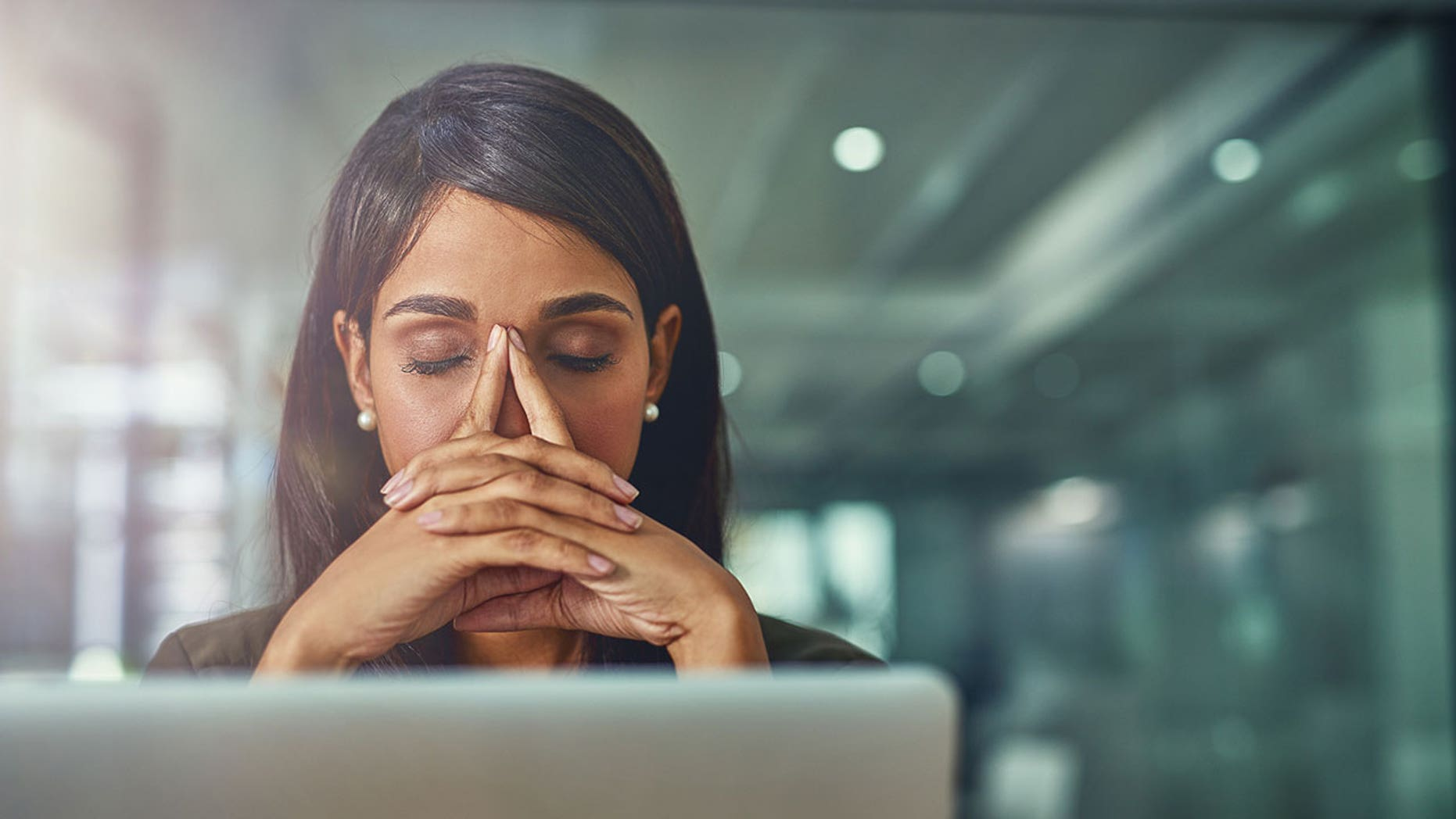 The average American said that around 80 percent of their bad days are caused by stress at work.