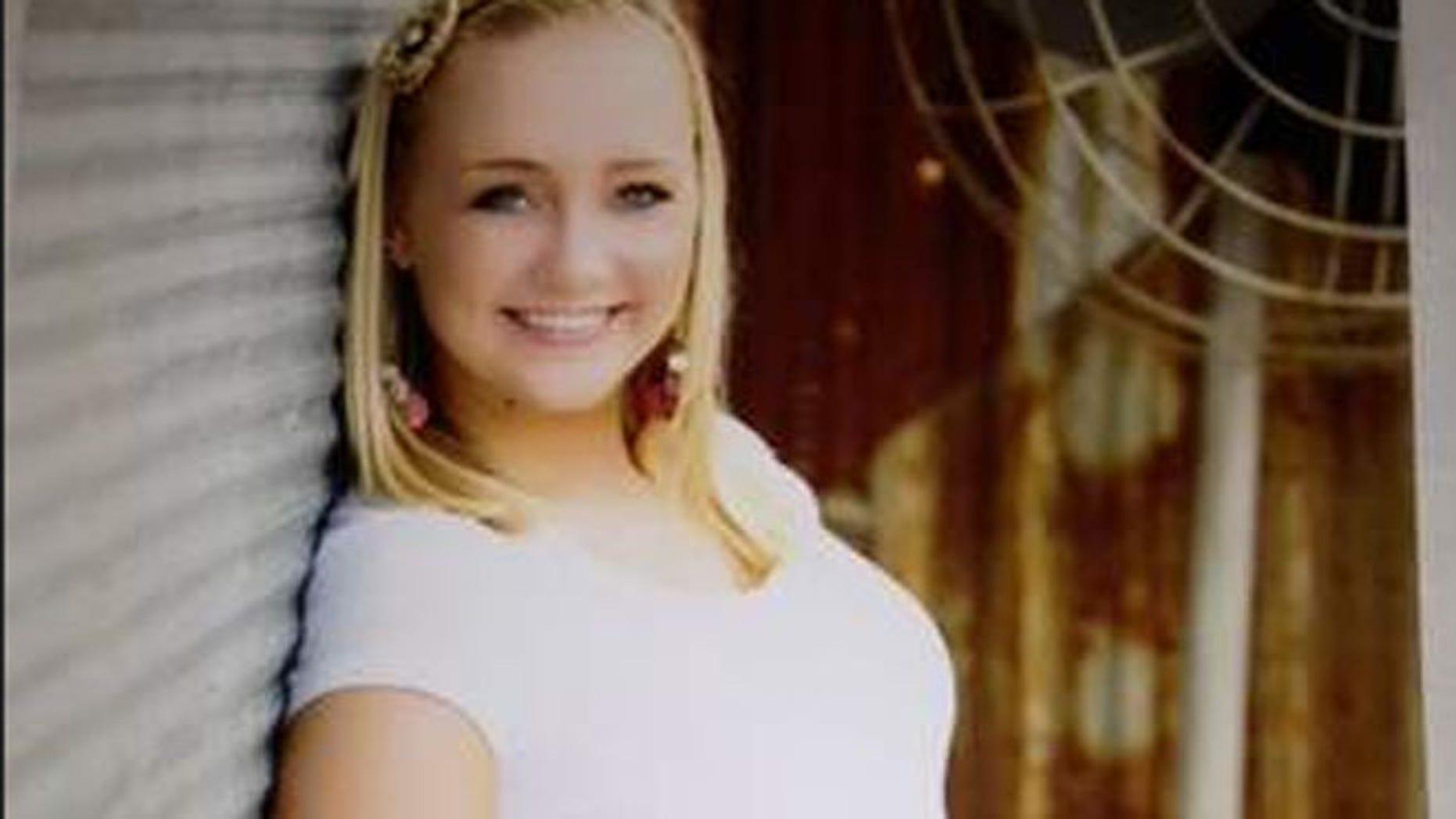 The body of Peyton Riekhof was found submerged in a Geist neighborhood reservoir.
