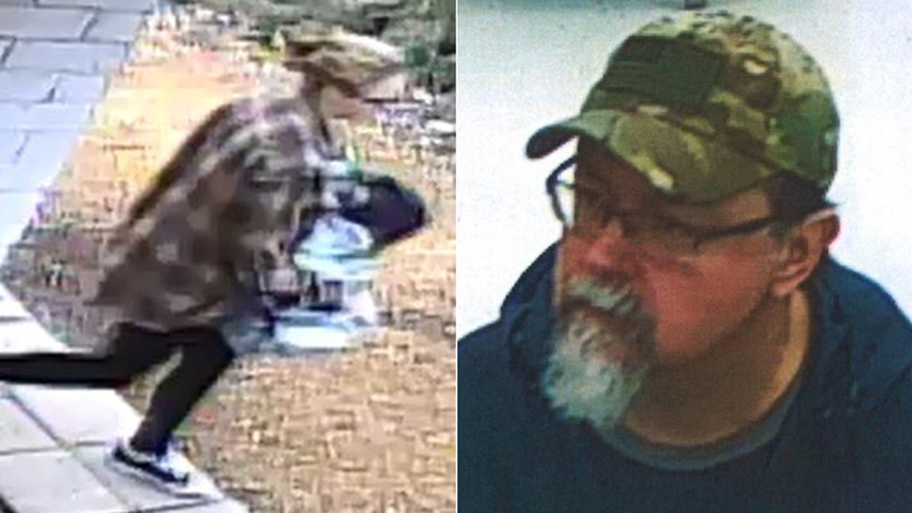 Elizabeth Thomas (left) is suspected of being kidnapped by ex-teacher Tad Cummins (right)