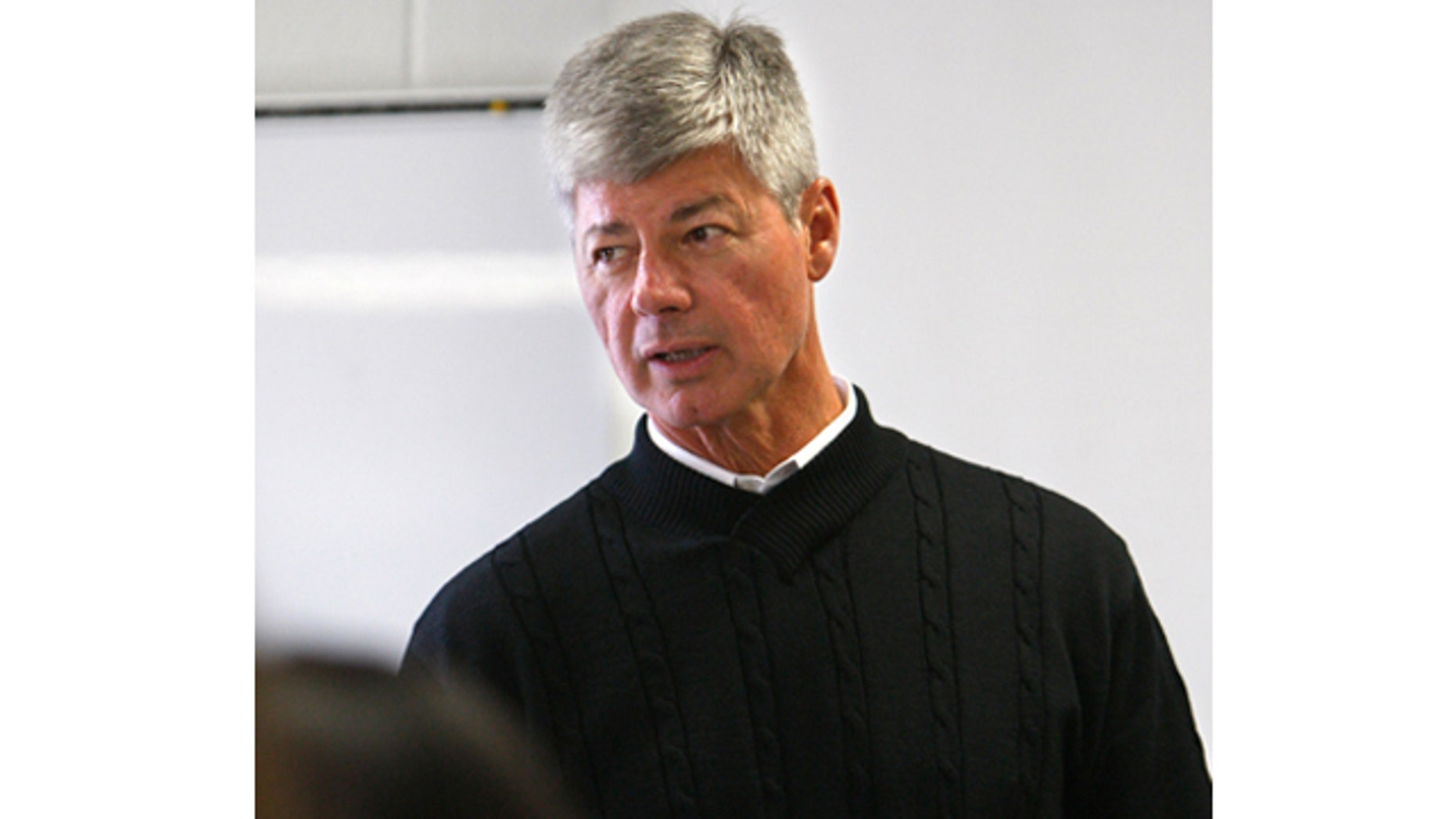 Monday: U.S. Rep. Bart Stupak talks to a class at the Tawas Area High School in Tawas City, Mich.