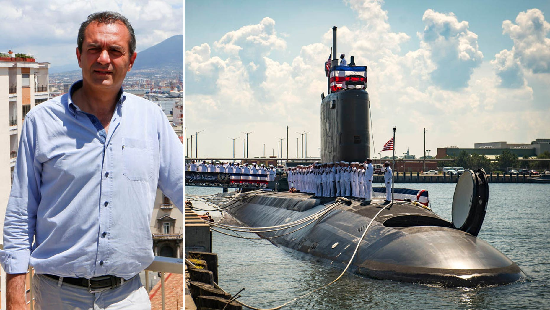 Naples' mayor Luigi de Magistris said the U.S.S. John Warner, a nuclear submarine, is not welcome in the city.