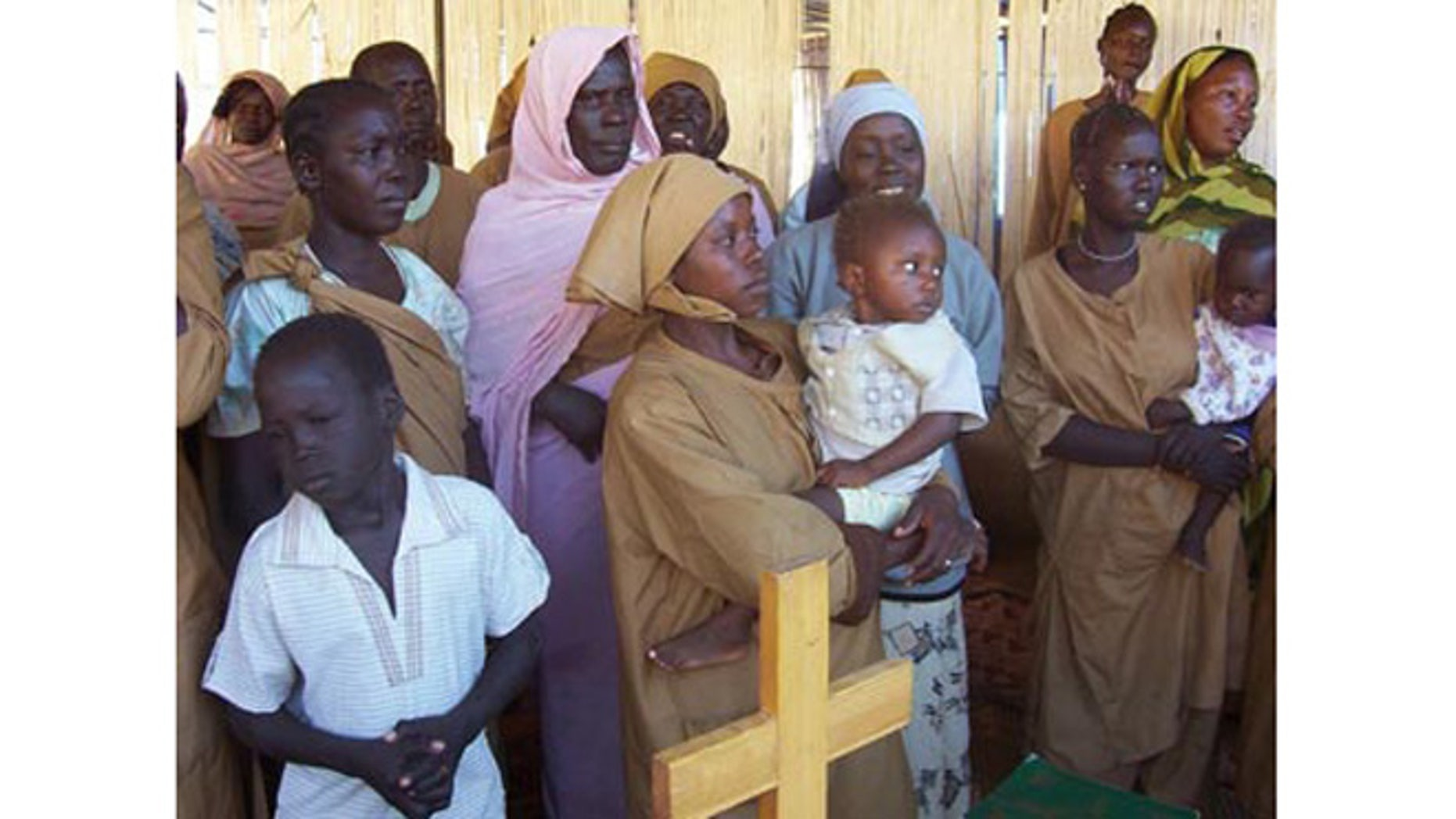 Many Christian woman and children in Northern Sudan are separated from their families and endure increased persecution from an increasing Mulslim population