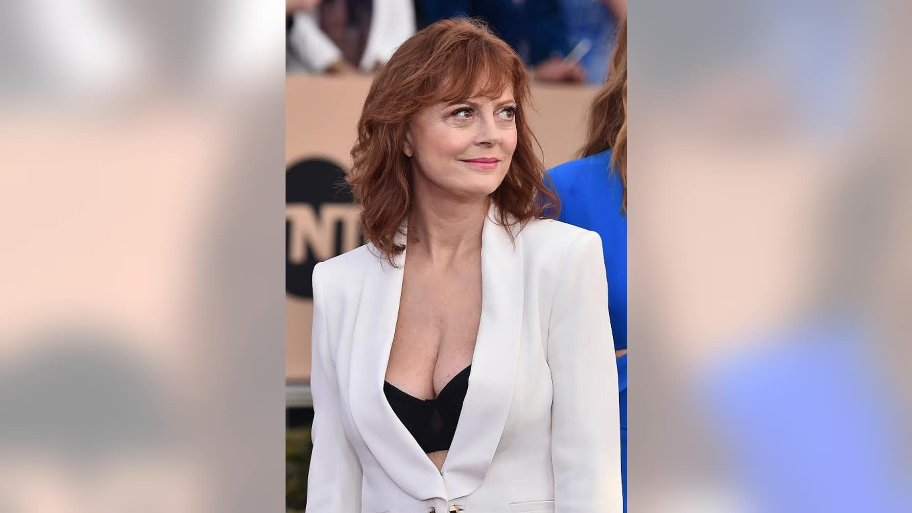 January 30, 2016. Susan Sarandon at the SAG Awards.