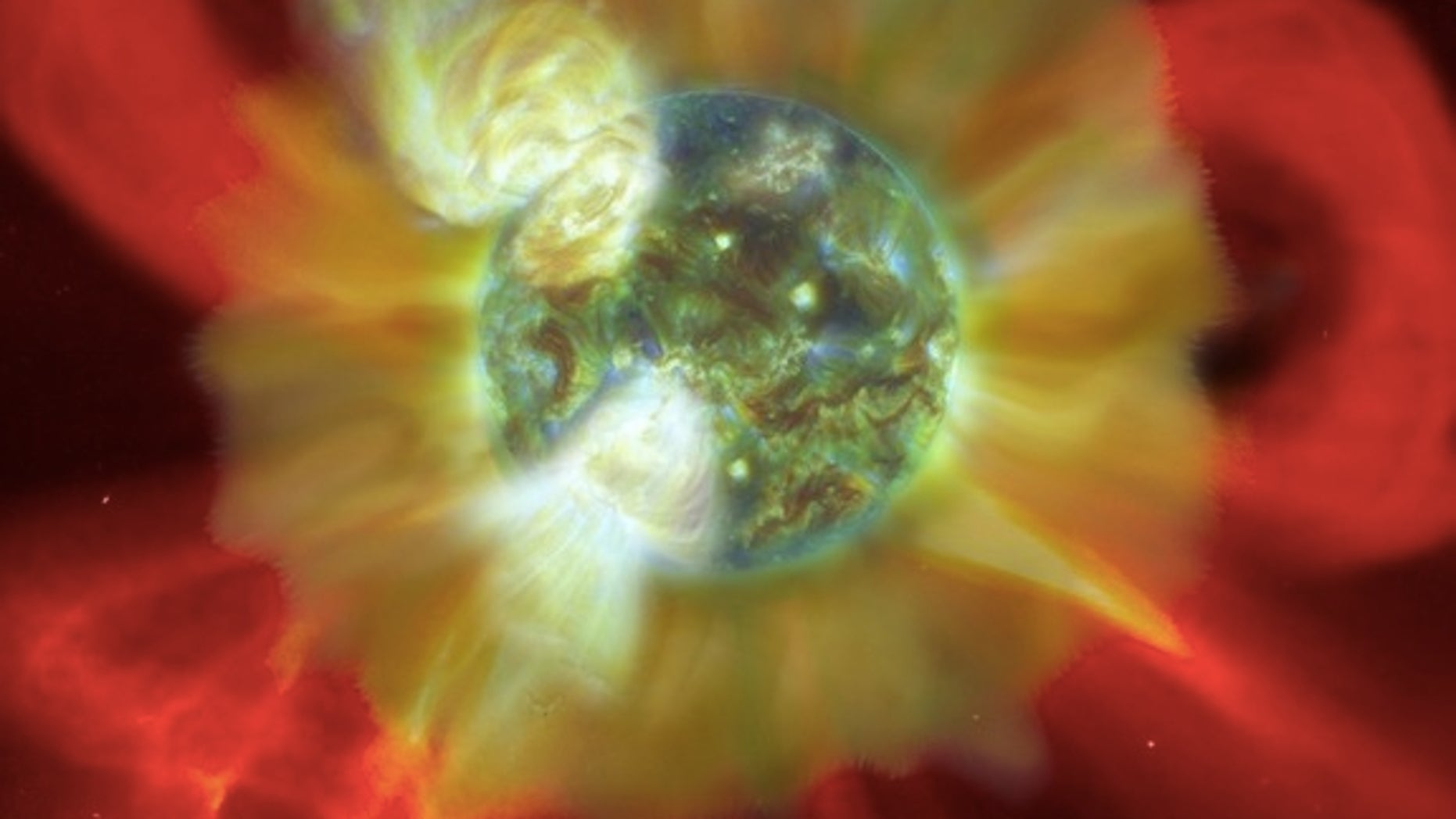 "The young Sun inundated the early Earth with ""superflares"" of particles and radiation."