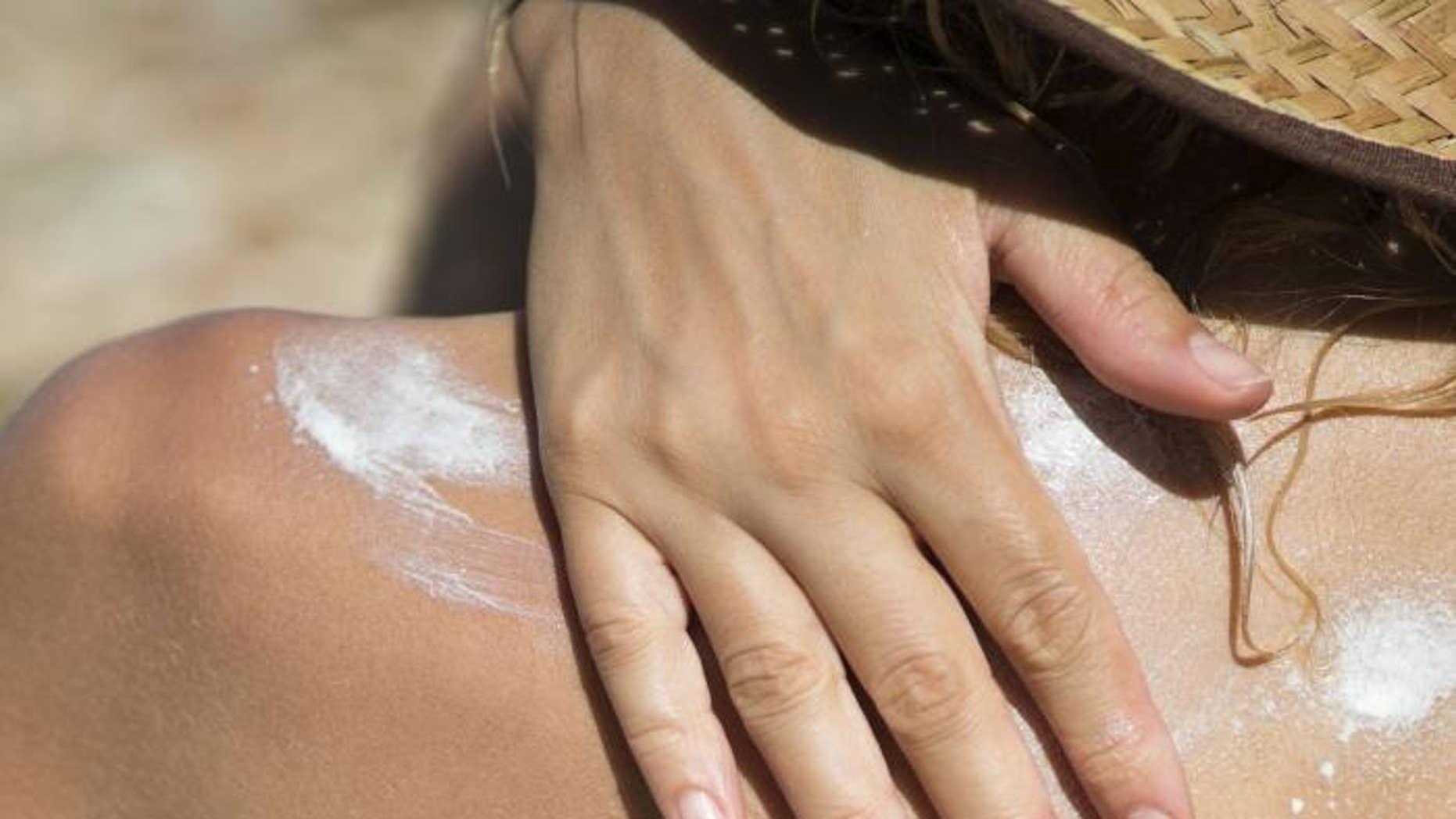 Generic sunscreen.