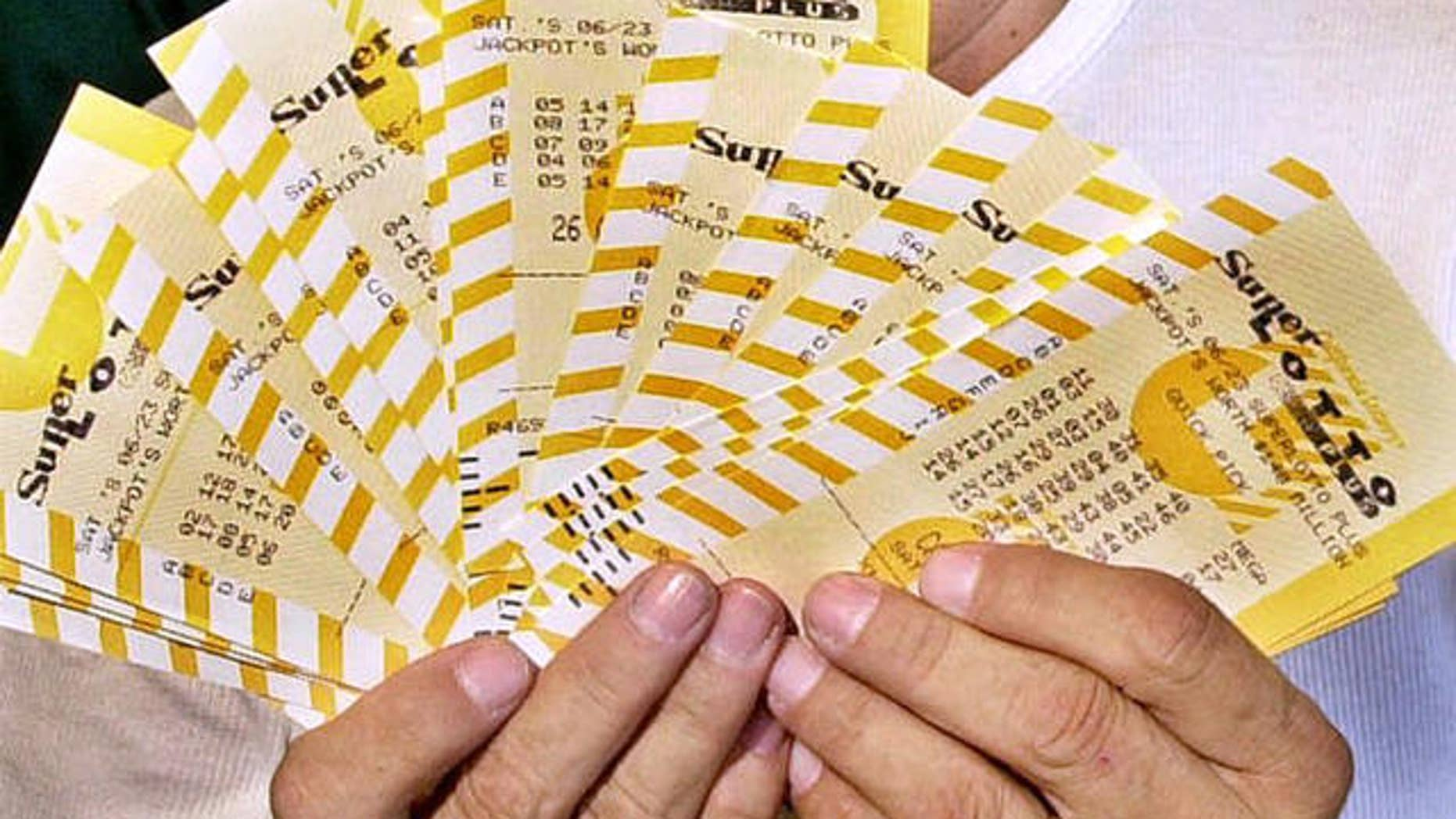 """One of two winners of the California Super Lotto was Audelia Ramirez, a proud """"abuela"""" who played the birthdays of her children and grandchildren and was rewarded with $9 million."""