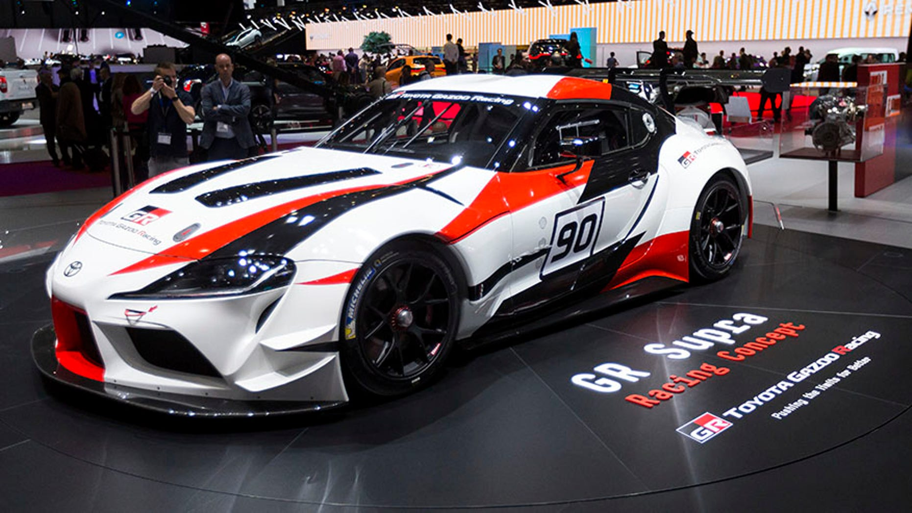 The GR Supra Concept is the first official sneak peek at the production version of Toyota's reborn sports car.