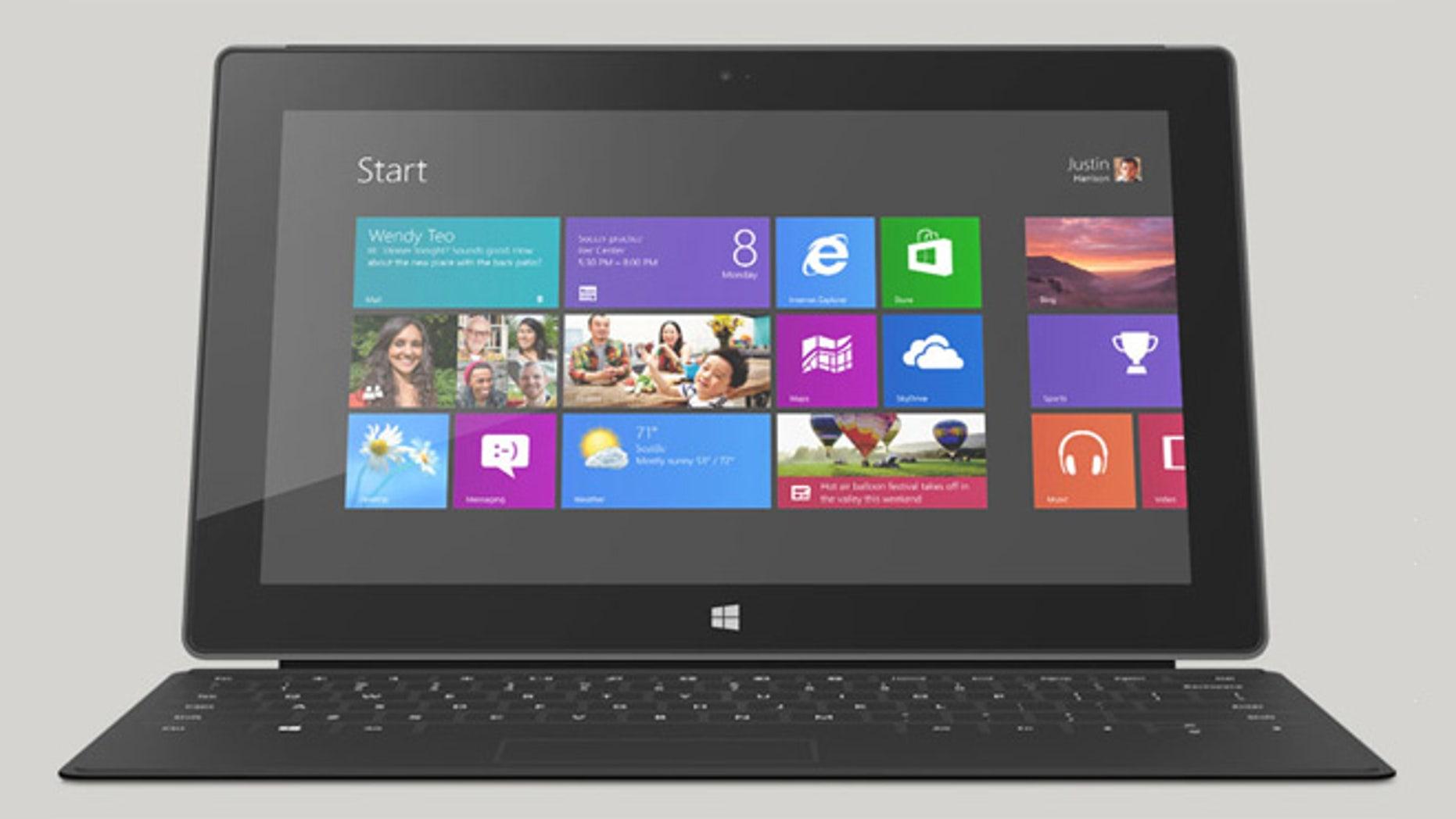 Microsoft's Surface Windows 8 Pro starts at $899.