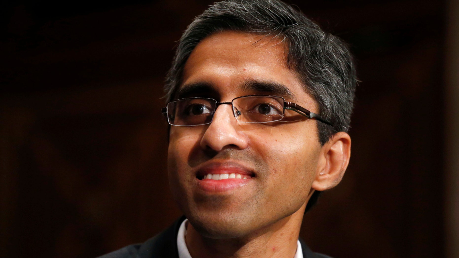 FILE - In this Feb. 4, 2014, photo, U.S. Surgeon General appointee Vivek Murthy appears on Capitol Hill in Washington.
