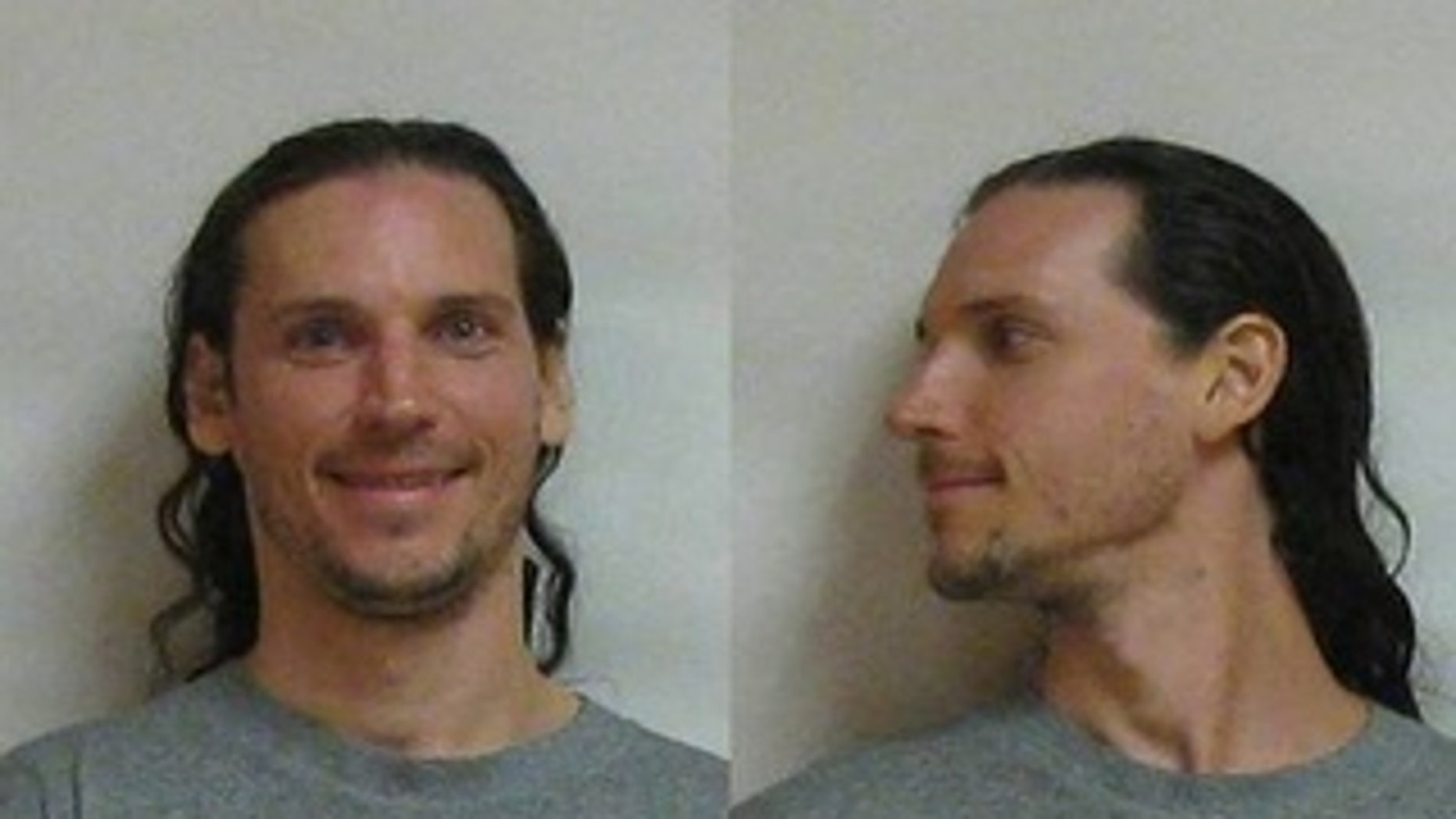 Curtis N. Condell, accused of vandalising a church and over 30 religious statues in New Jersey.