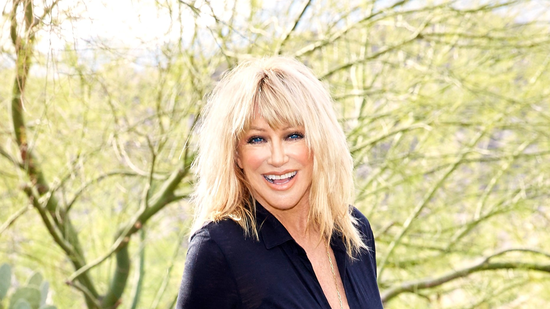 Author and actress Suzanne Somers