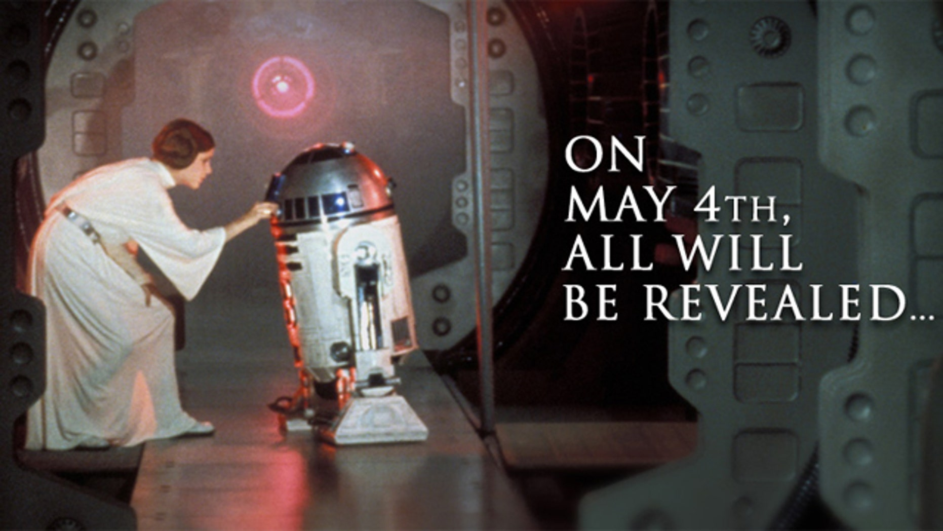 """A """"Star Wars Day"""" special announcement was unveiled by StarWars.com: The complete series is coming to Blu-ray in September."""