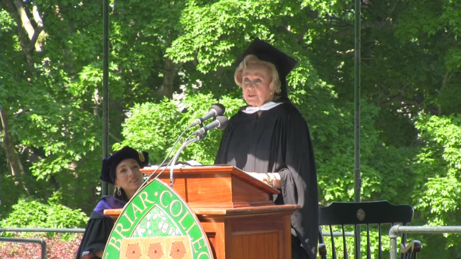 Sweet Briar College commencement speaker and alumna, Nella Gray Barkley, came under fire for criticizing the #MeToo movement during her address.