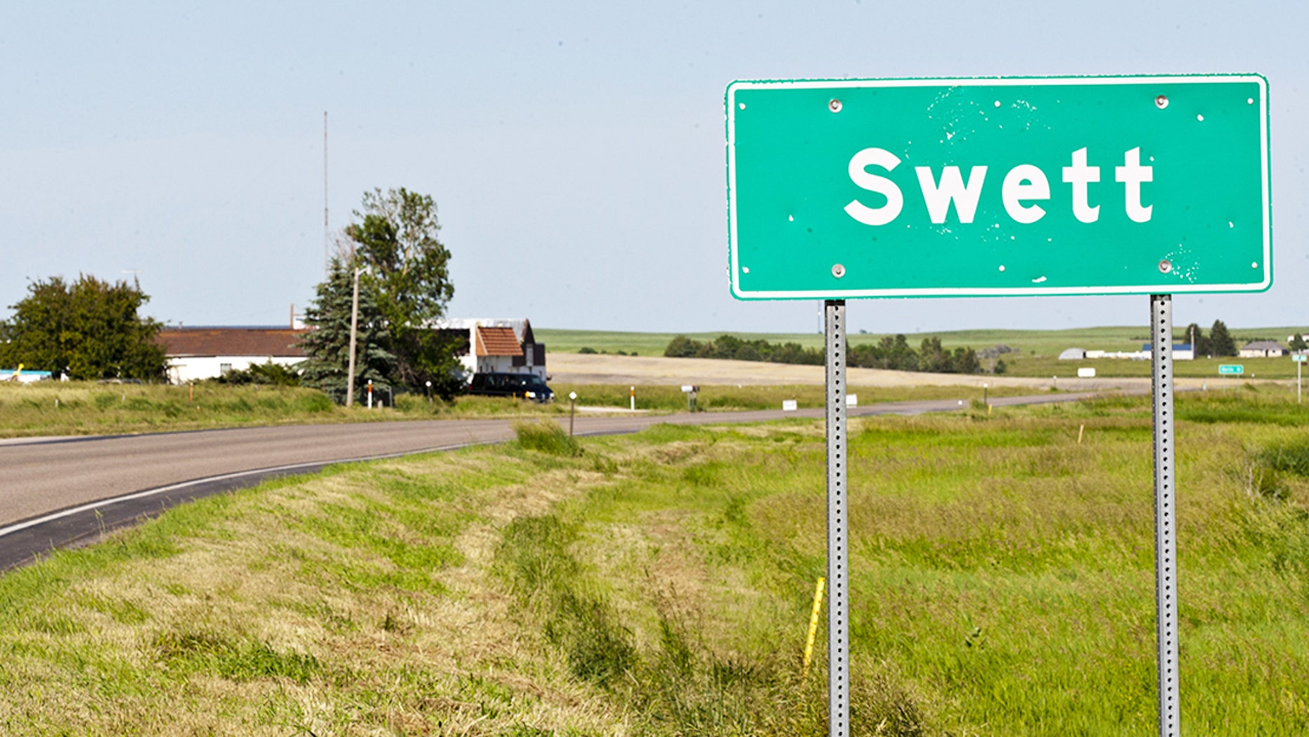 The town of Swett, South Dakota can be yours for a quarter million.