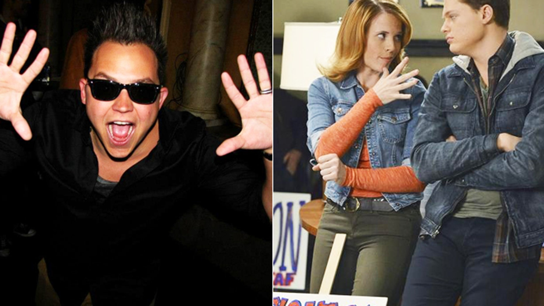 Deaf musician Sean Forbes (left), and Deaf actor Sean Beardy (right, with actress Katie Leclerc on 'Switched at Birth'), are some of the deaf and hard-of-hearing entertainers succeeding in mainstream music and TV.