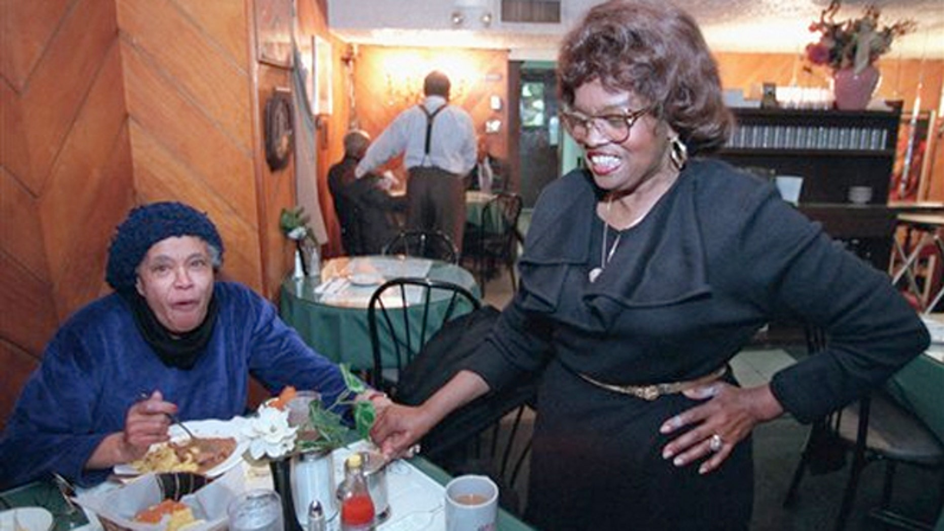 Sylvia Woods died Thursday afternoon at her home in Mount Vernon, N.Y.