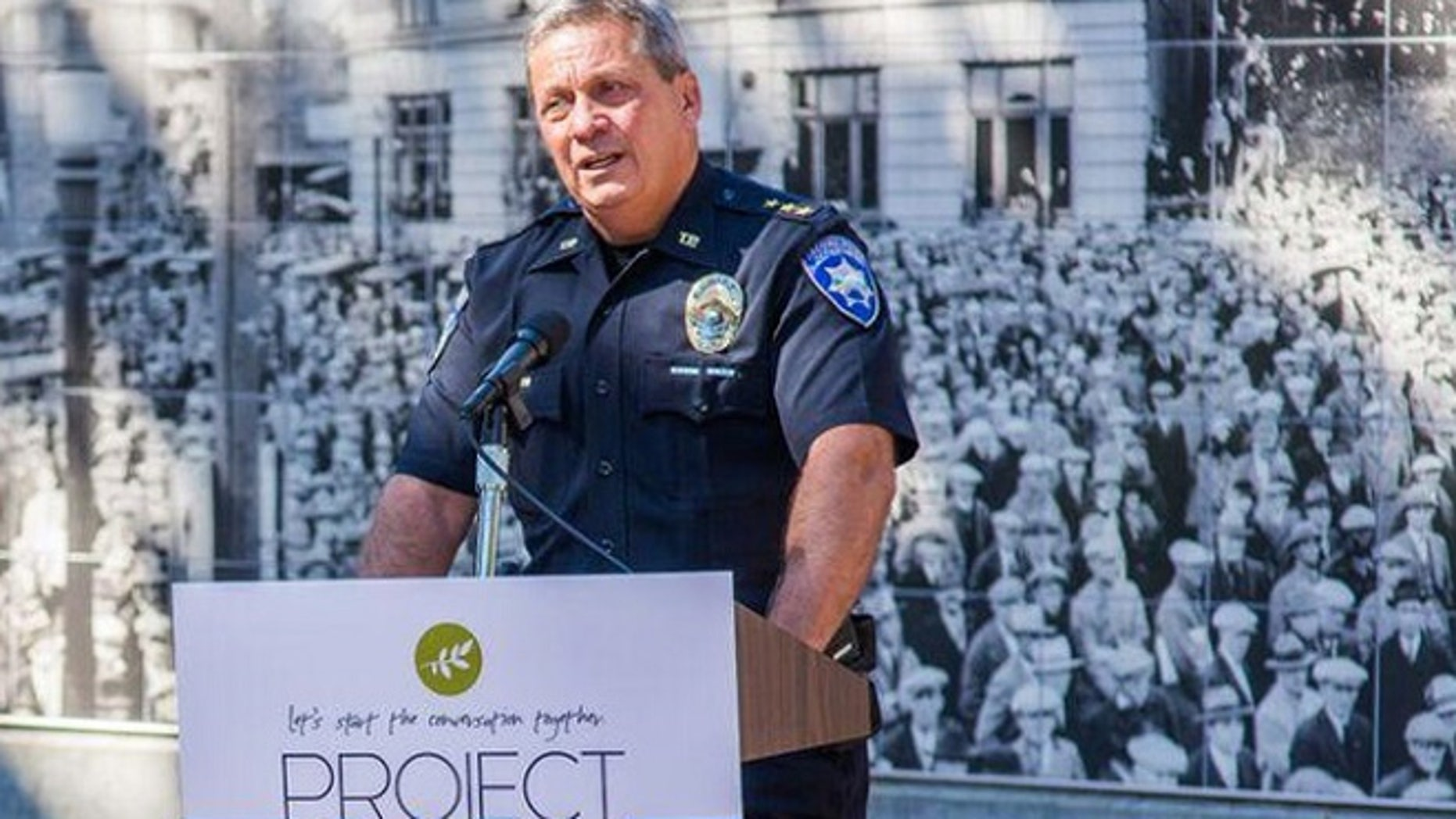 Tacoma Police Chief Don Ramsdell has supported the proposed project for an anonymous drop box to get guns off city streets.