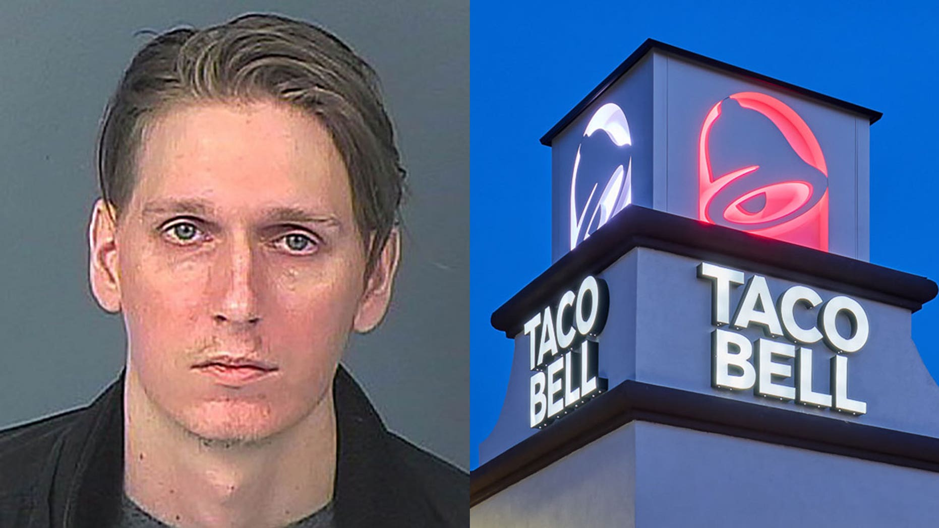 Douglas Francisco presumably thought he had pulled up to a Taco Bell drive-thru and tried to order a burrito.