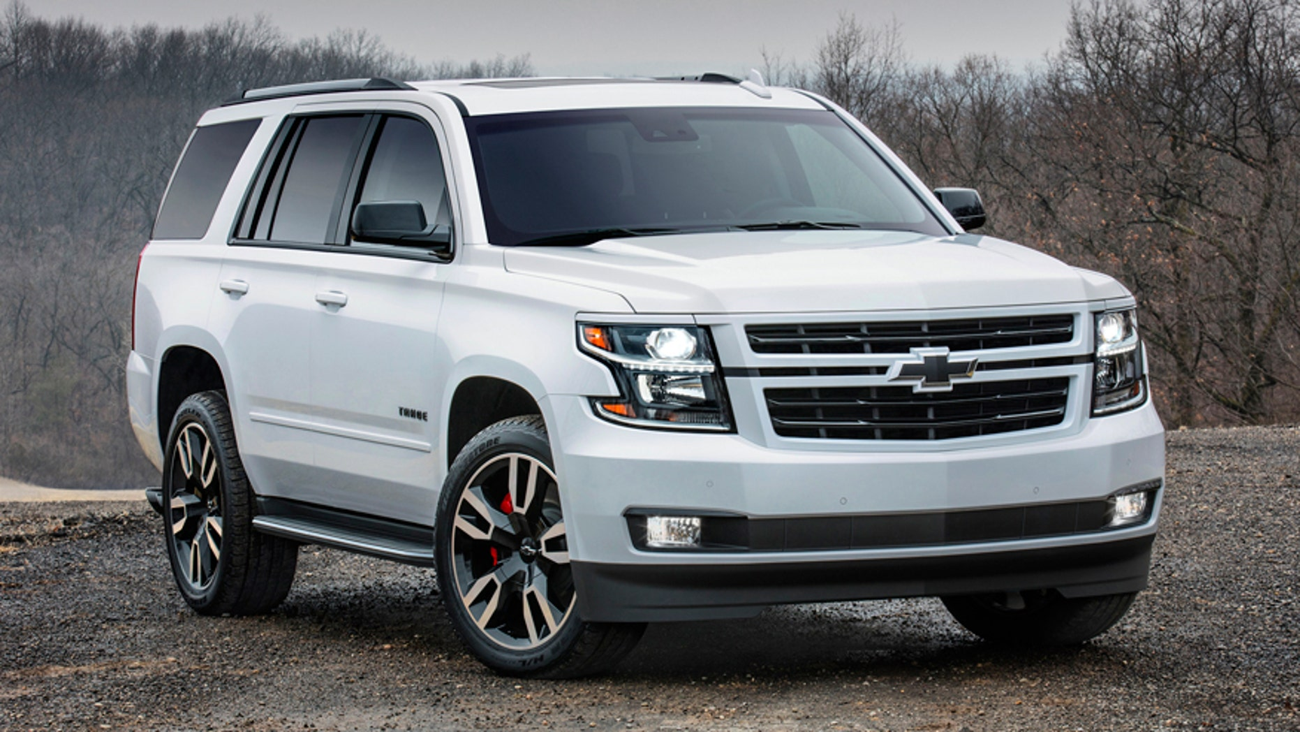 the 2018 tahoe rst is the muscle car of chevy suvs