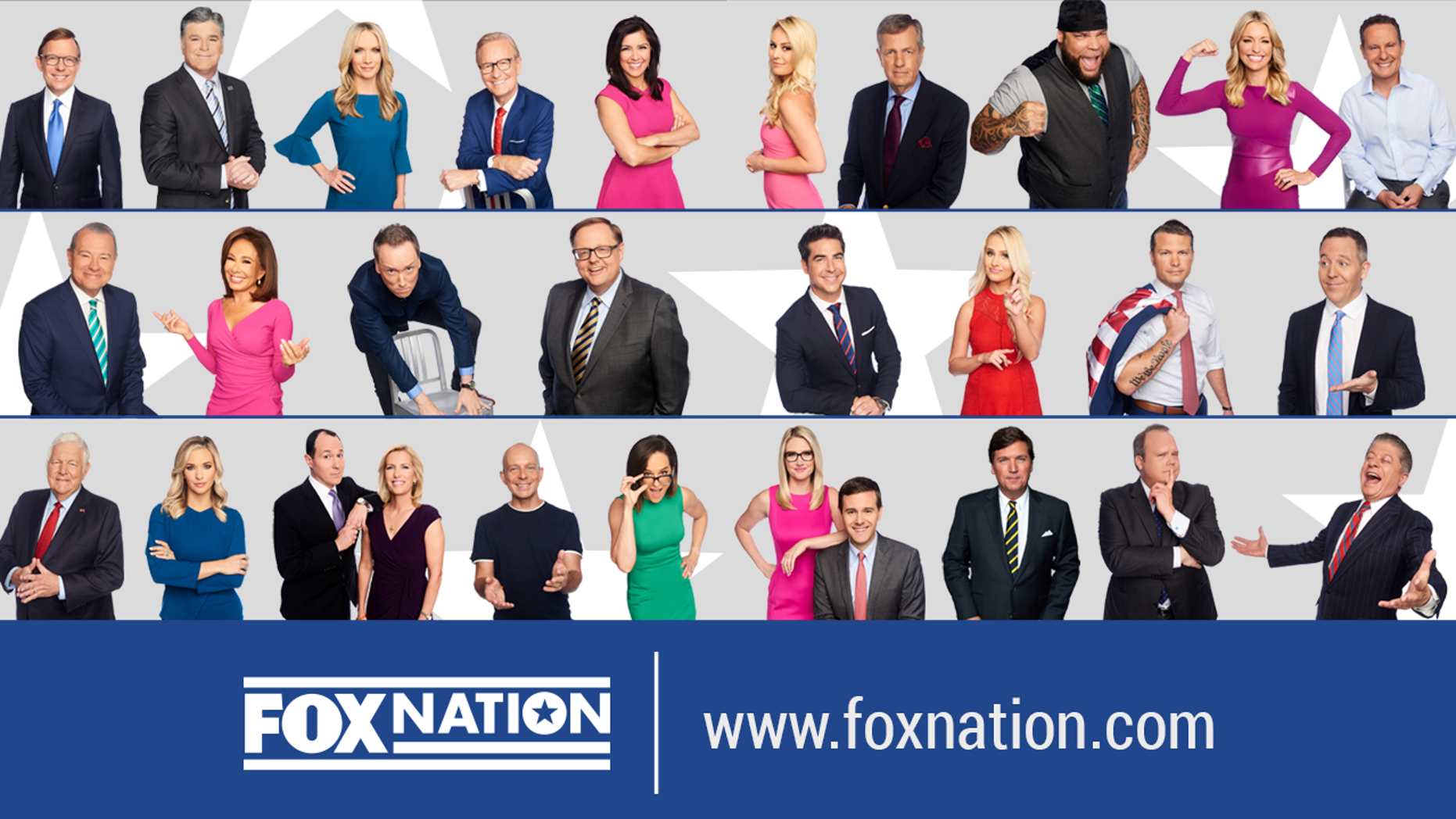 Fox Nation will launch later this year with content from many of Fox News Channel's biggest stars.