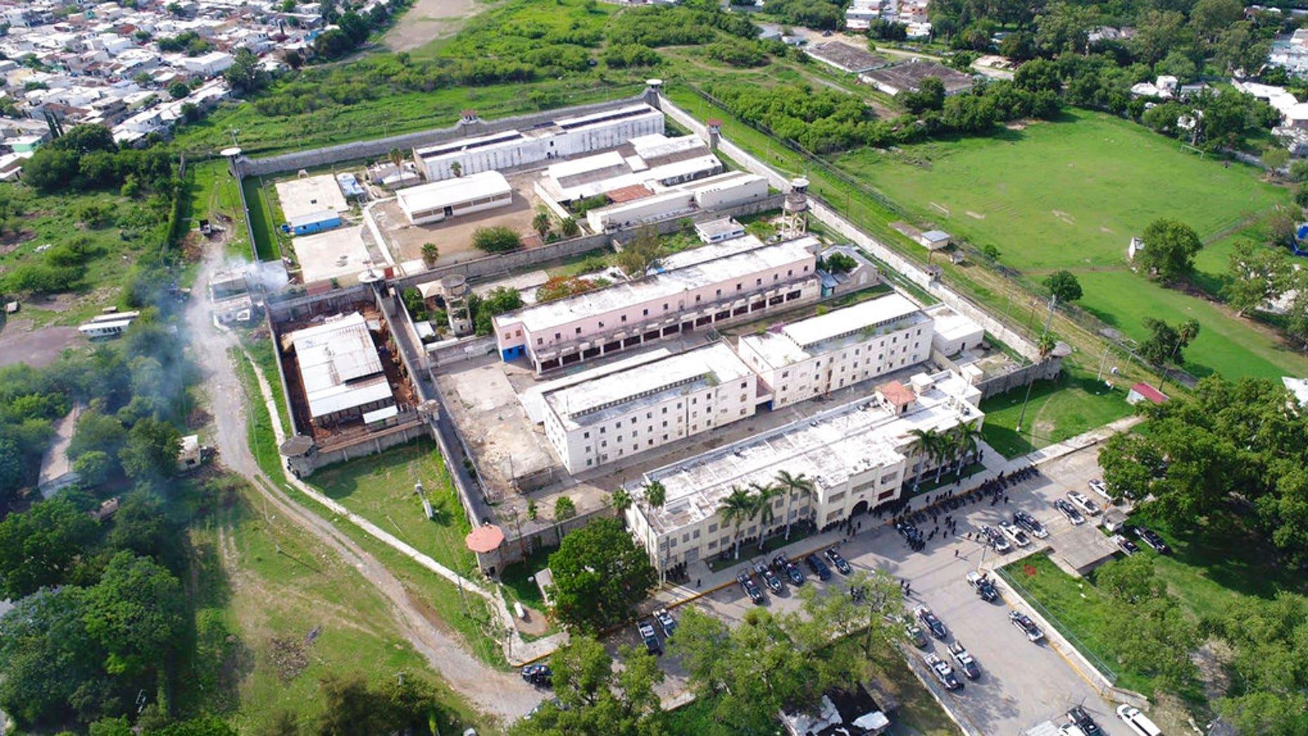 """The """"Cedes"""" prison in Ciudad Victoria, Mexico."""