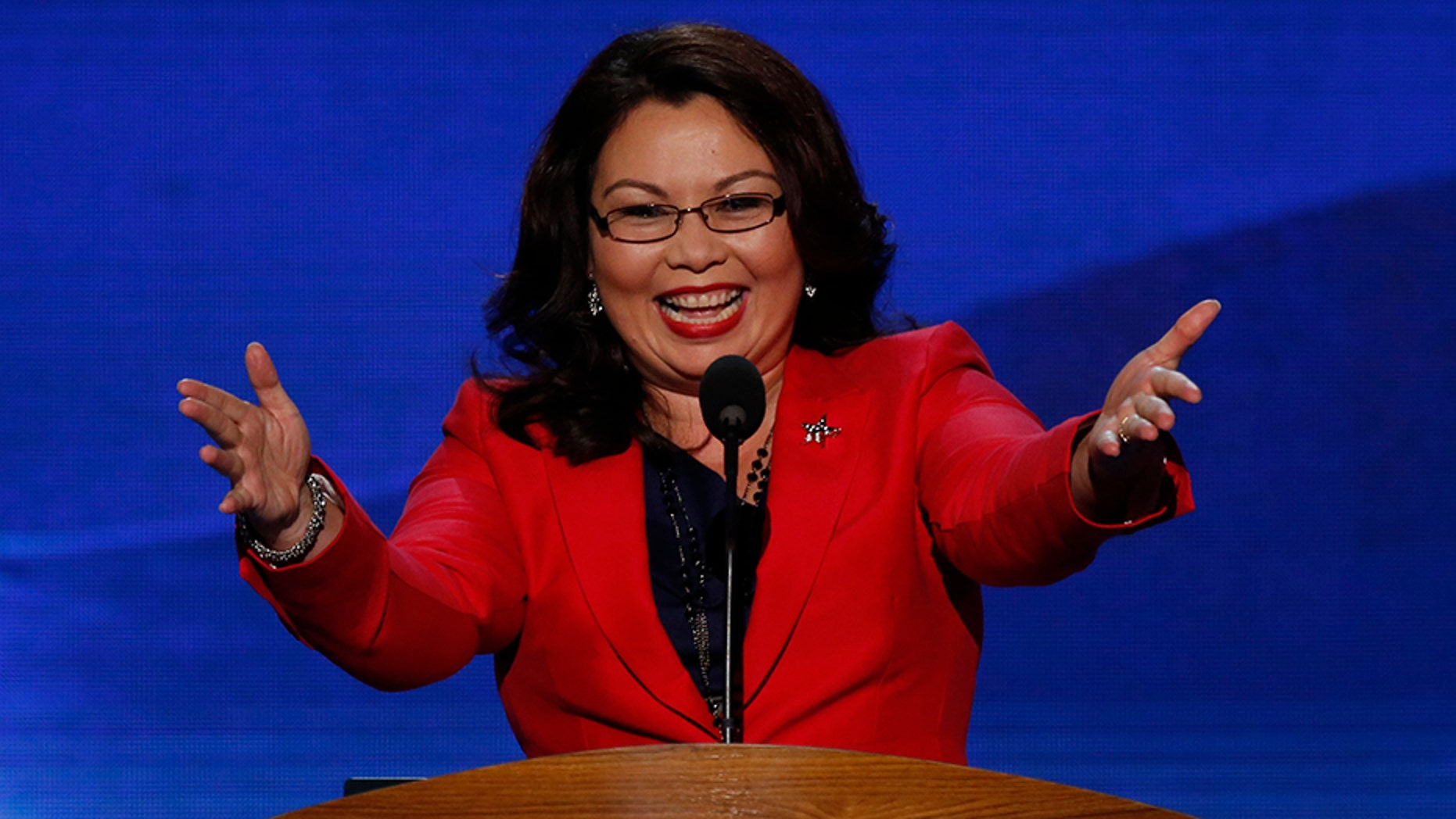 "Sen. Tammy Duckworth has become the first sitting member of the ""world's greatest deliberative body"" to give birth while in office."