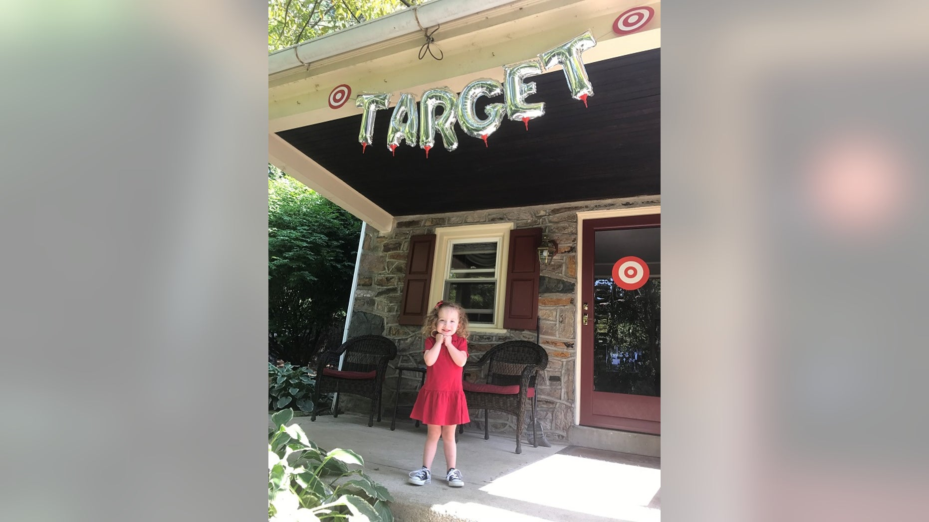 3 Year Old Girl Gets Target Themed Party For Her Birthday