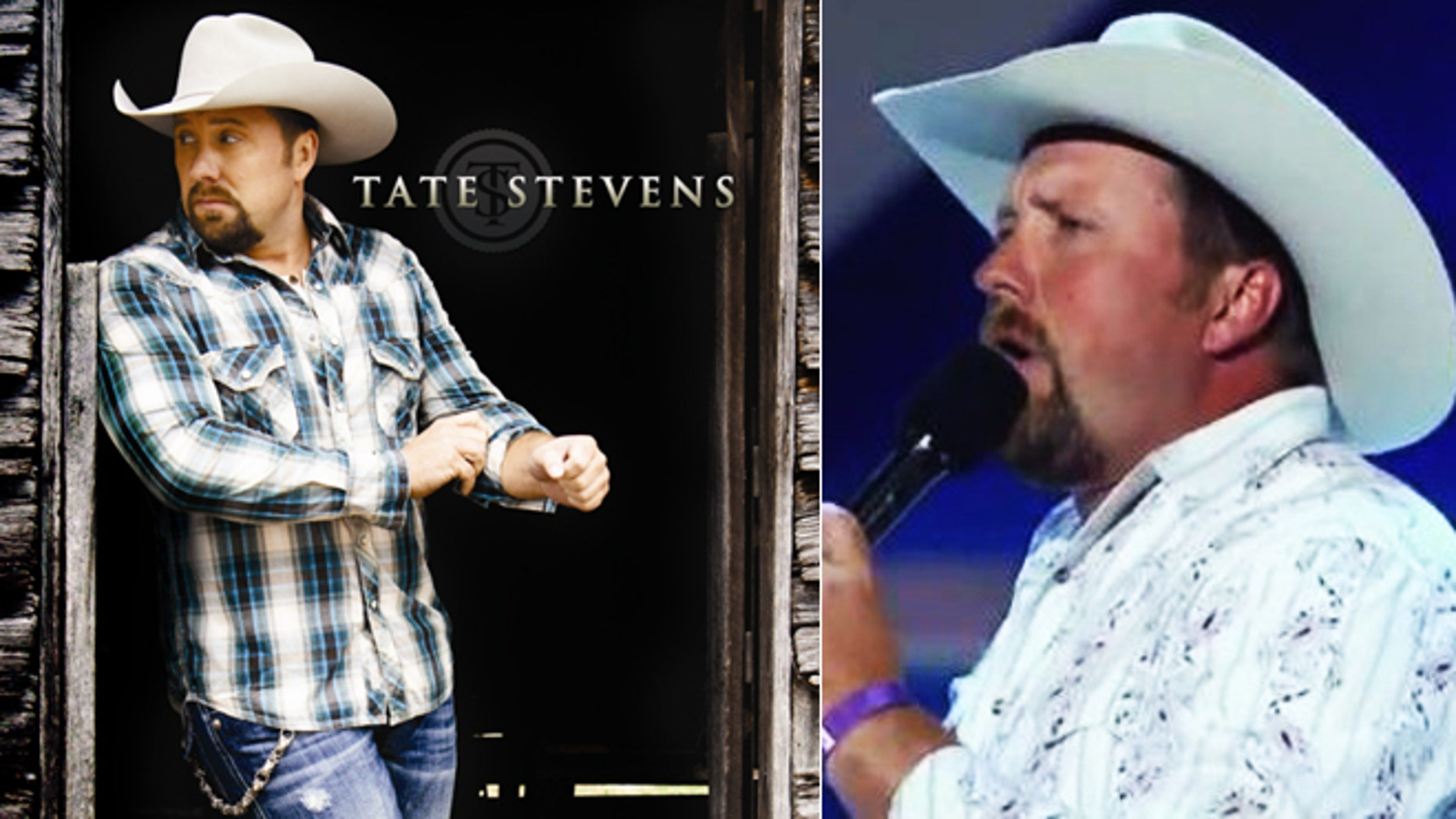 Tate Steven's debut album, and performing on 'X Factor.'