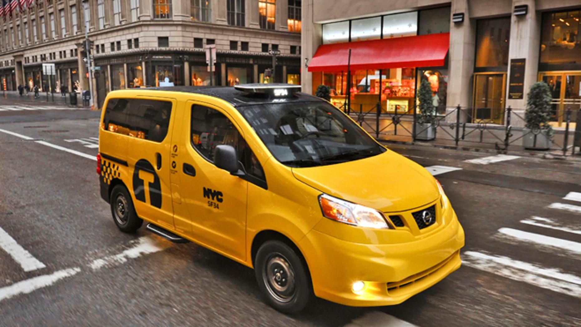 Critics seek to pump brakes on New York City's 'Taxi of Tomorrow