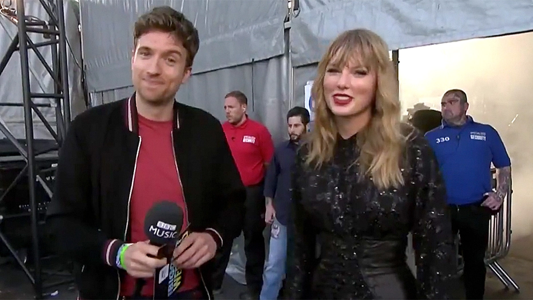 BBC Radio 1 DJ Greg James was called out by Taylor Swift fans after he mentioned that the singer should take a shower following her performance.