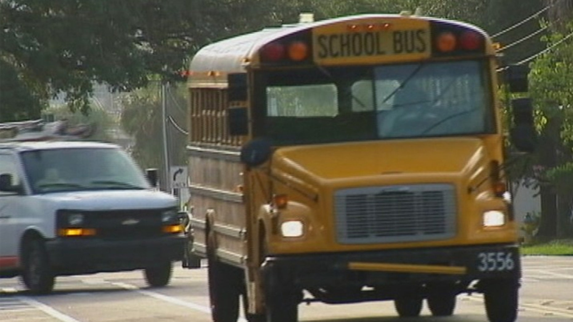 After recent incidents on school buses, a Florida school board opted to temporarily put armed deputies on buses.