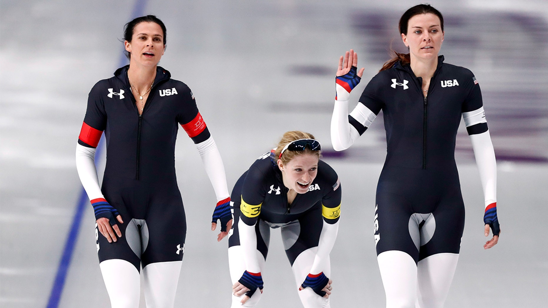 "Twitter is calling out Team USA's speed skating uniforms, branding them ""pervy."""