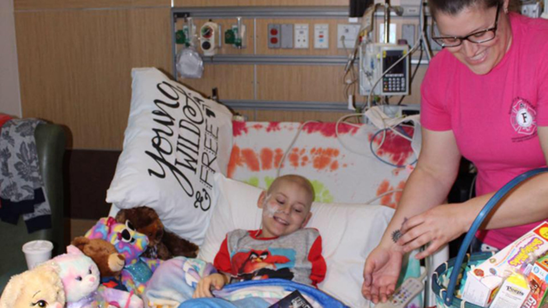 Jay Ryon was diagnosed with leukemia when he was 7 years old.