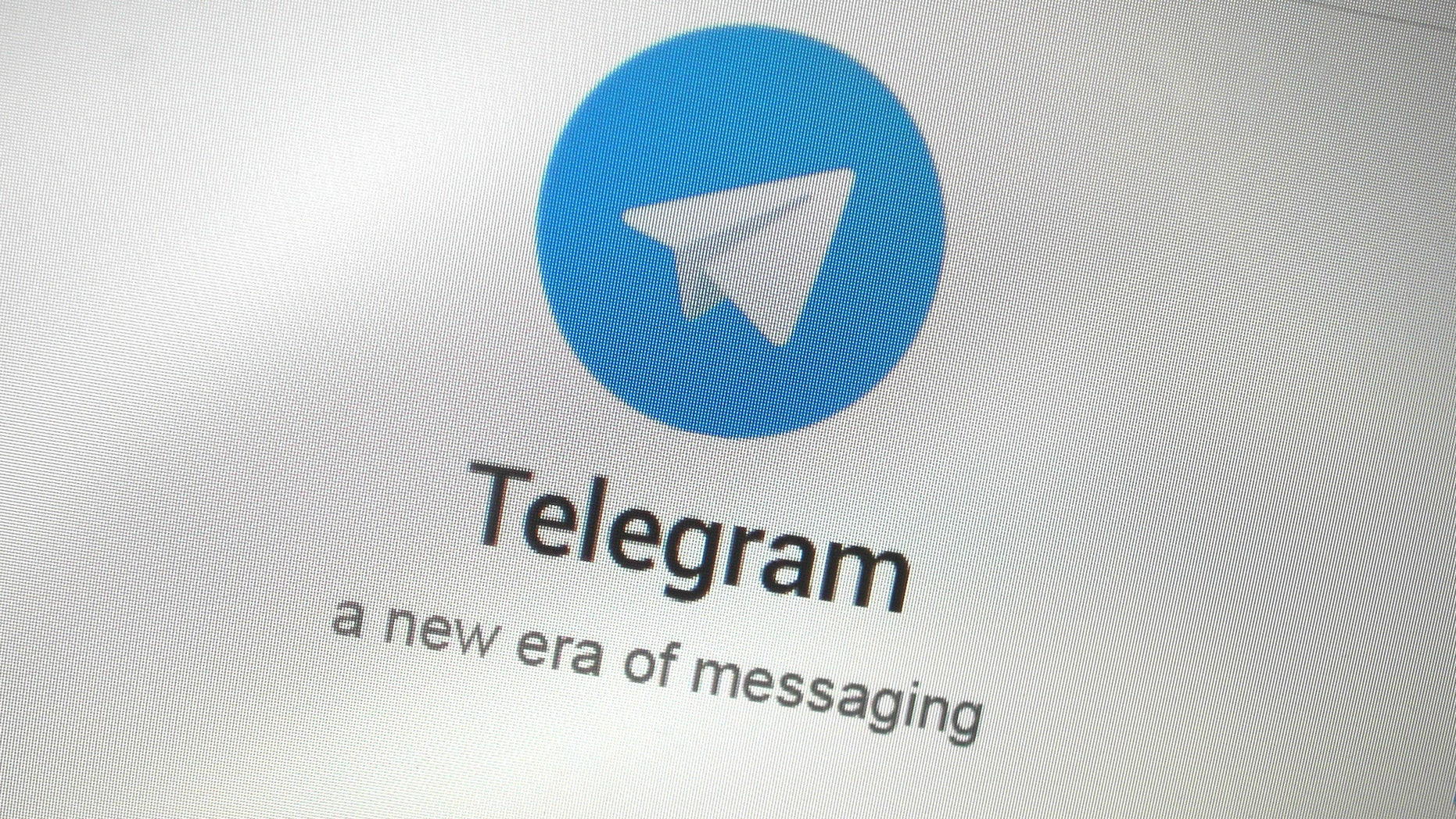 File photo - The Telegram messaging app logo is seen on a website in Singapore Nov. 19, 2015. (REUTERS/Thomas White)