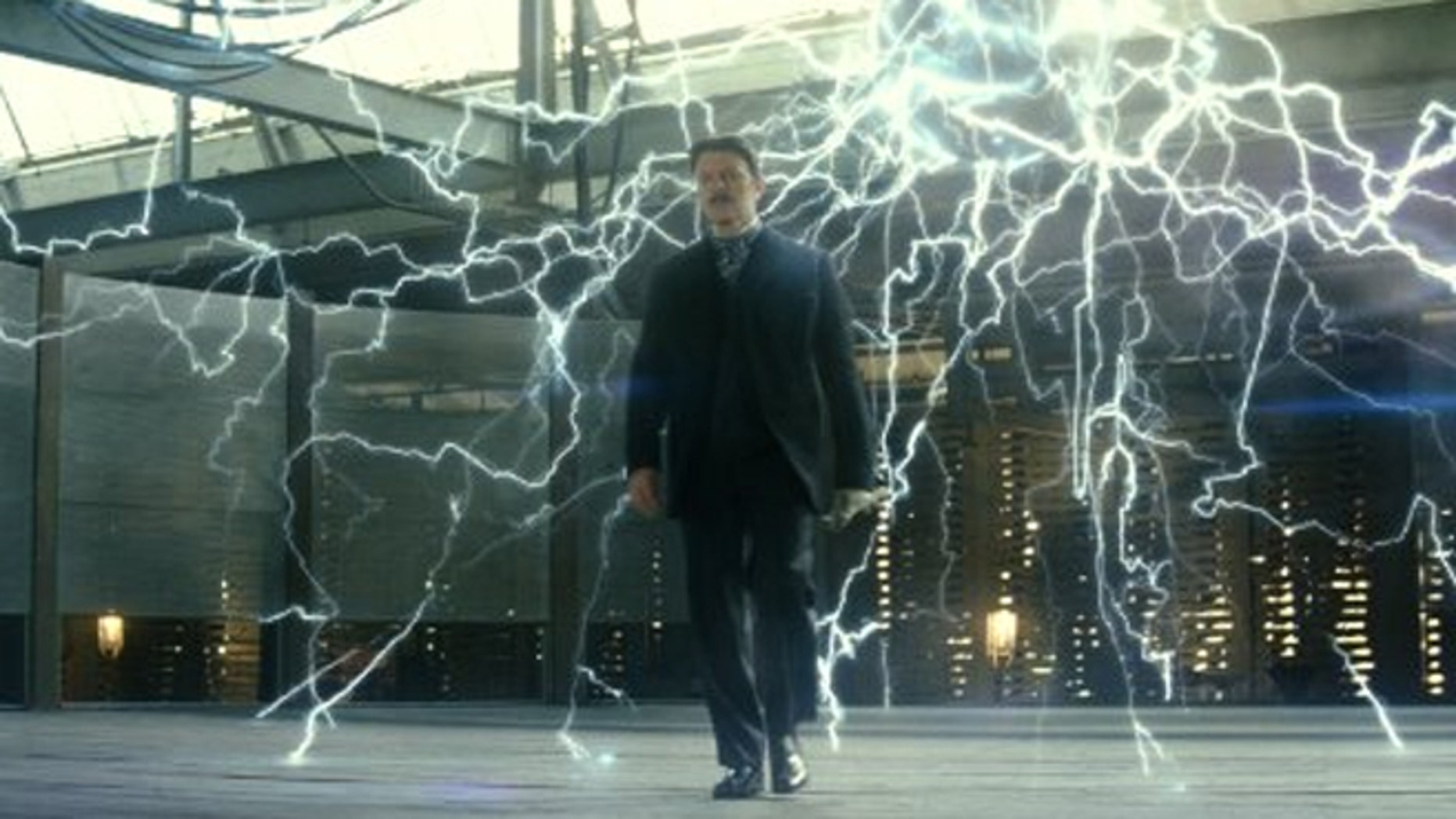 David Bowie as real-life inventor Nikola Tesla in The Prestige where his character created a teleportation device.