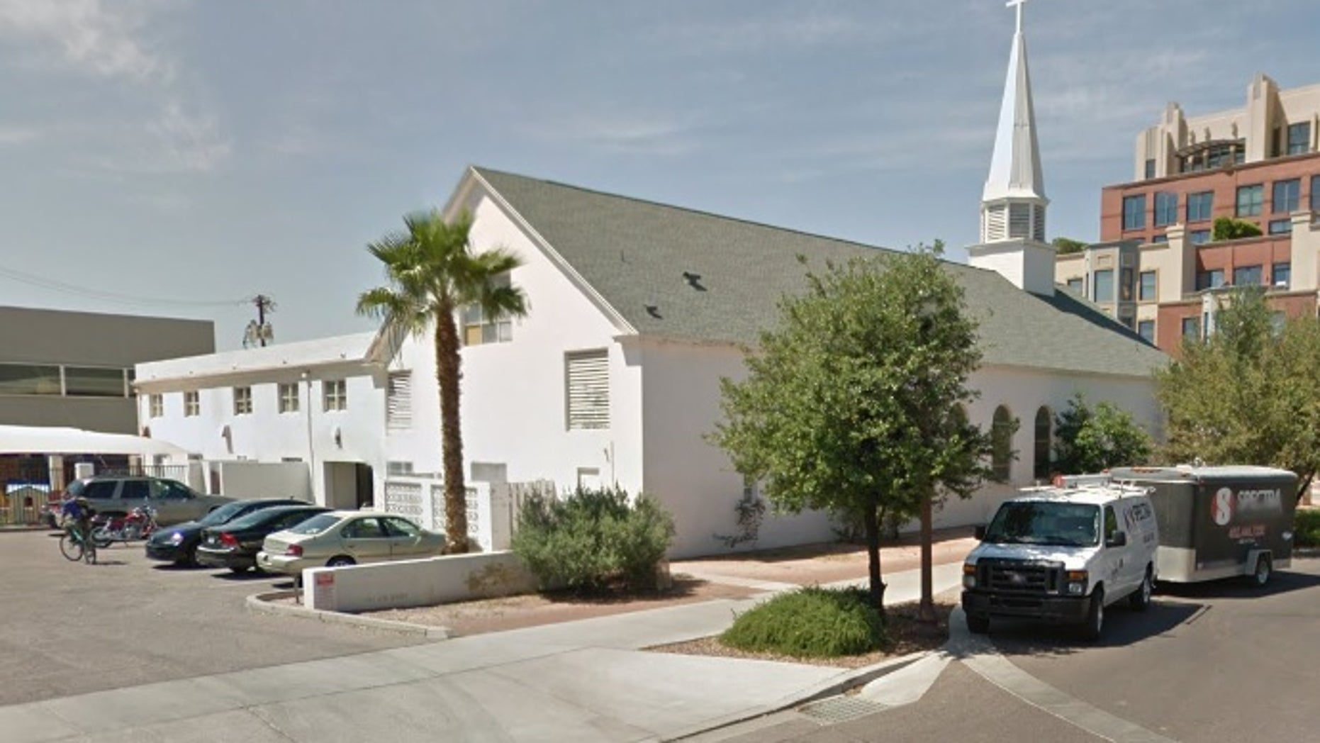 The First Congregational United Church of Christ in Tempe.