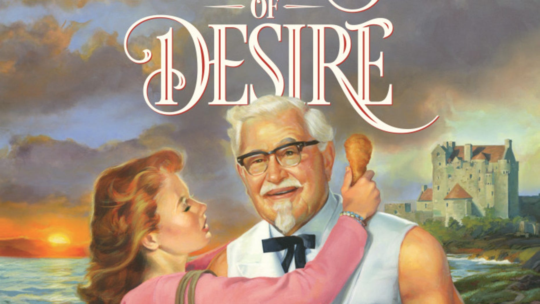 """KFC's """"Tender Wings of Desire"""" is available as a free e-book on Amazon."""
