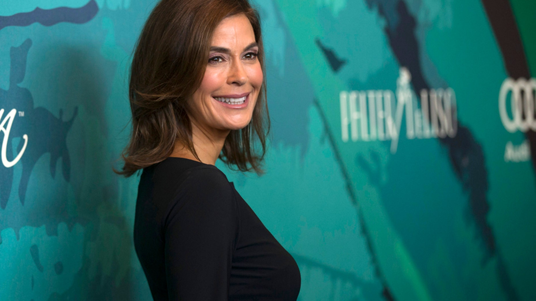 Actress Teri Hatcher poses at the seventh Variety's Power of Women luncheon at the Beverly Wilshire Hotel in Beverly Hills, California October 10, 2014.