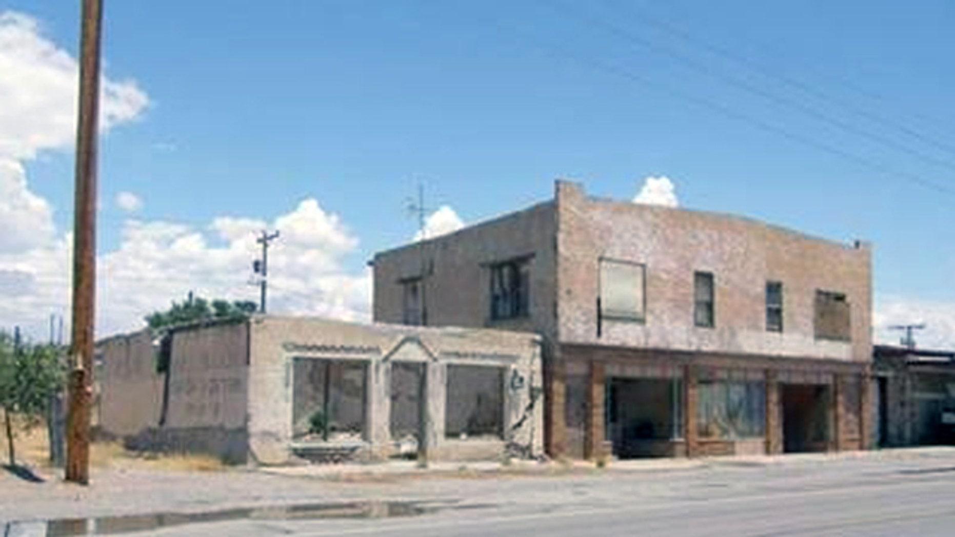 Downtown Fort Hancock, Texas