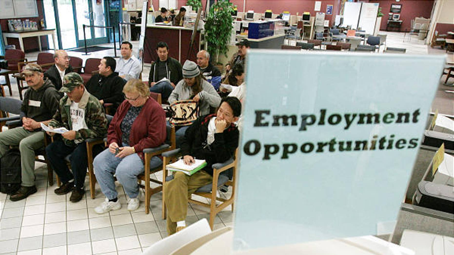Many Americans are still out of work.