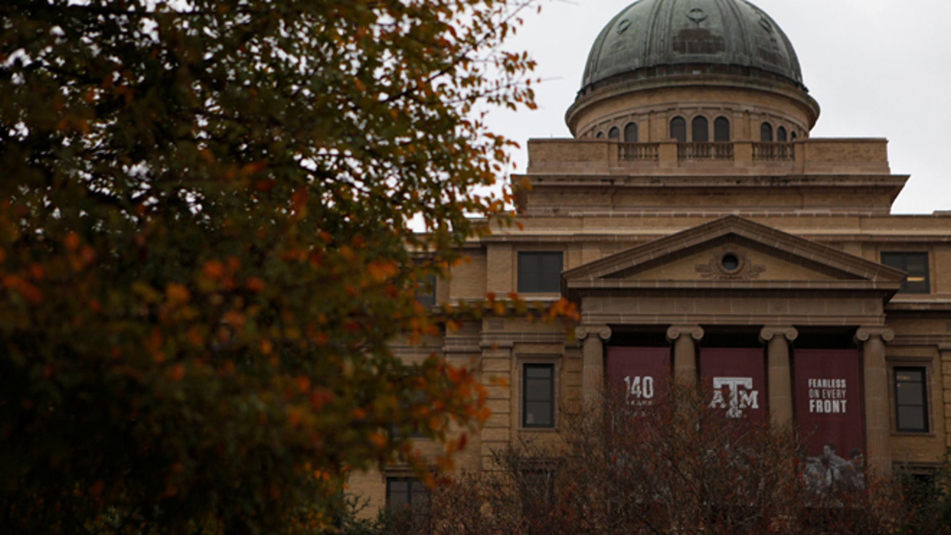 The campus of Texas A&M University.