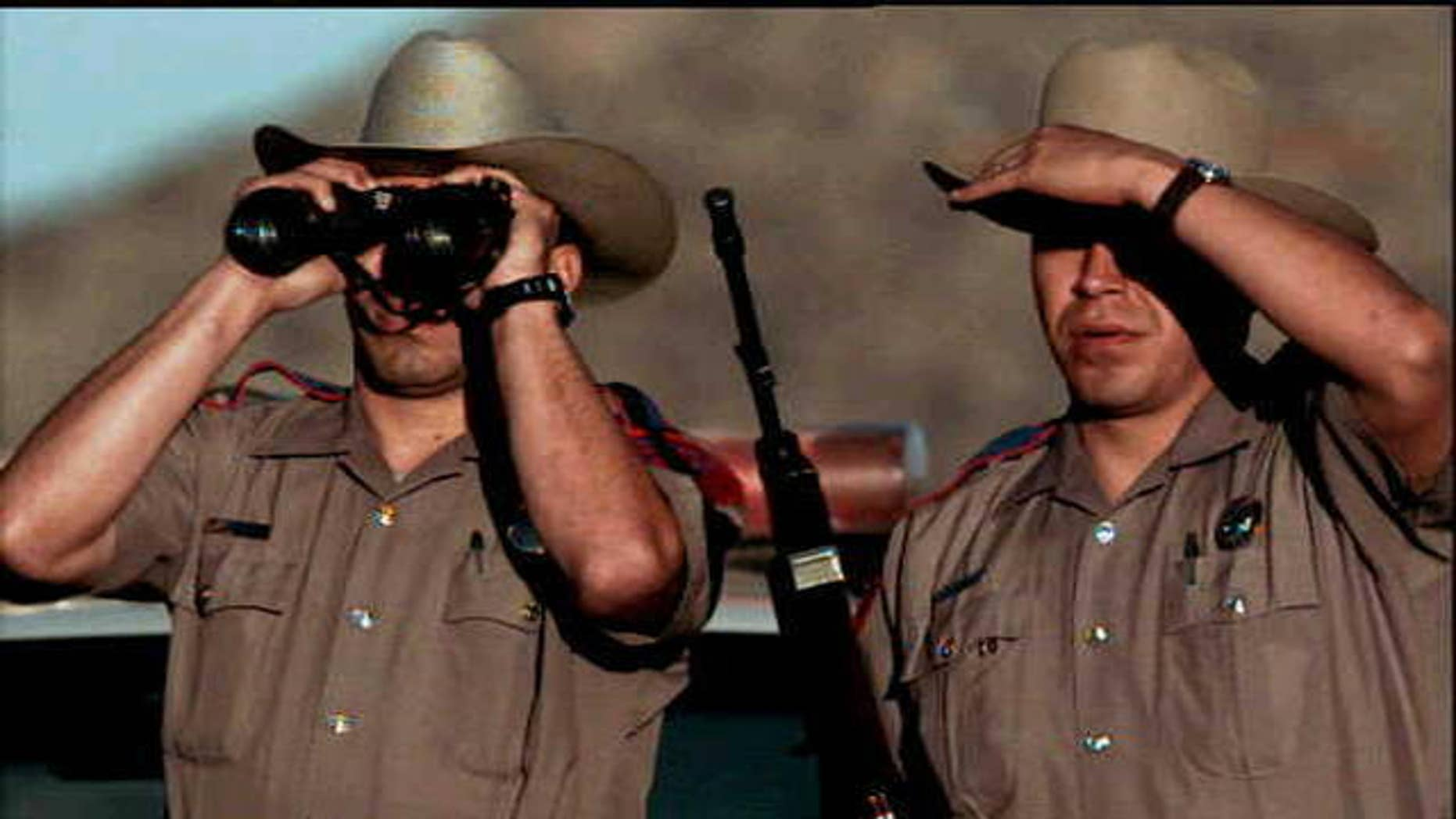 Texas state troopers.