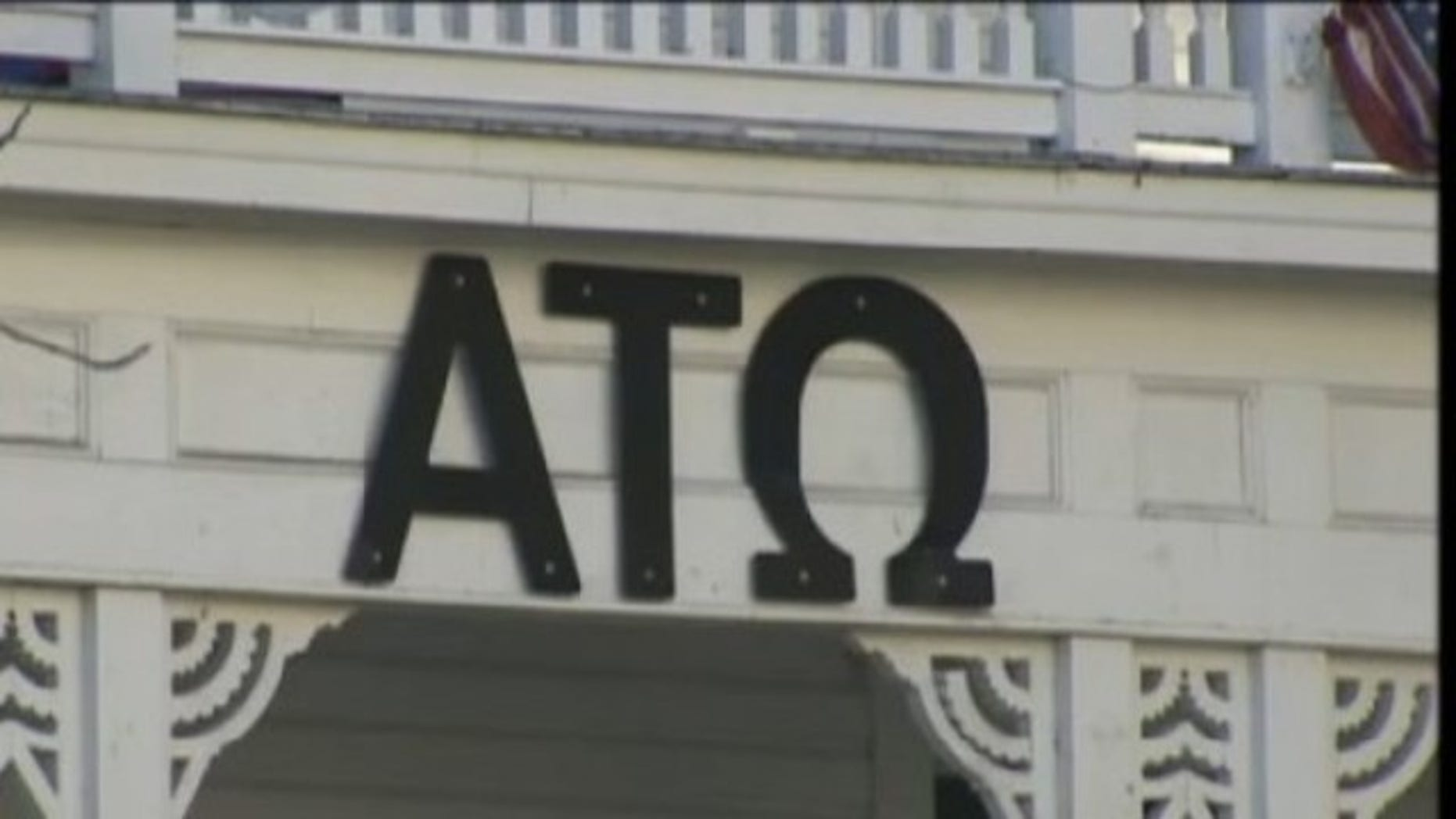 The Alpha Tau Omega fraternity house at Texas State.