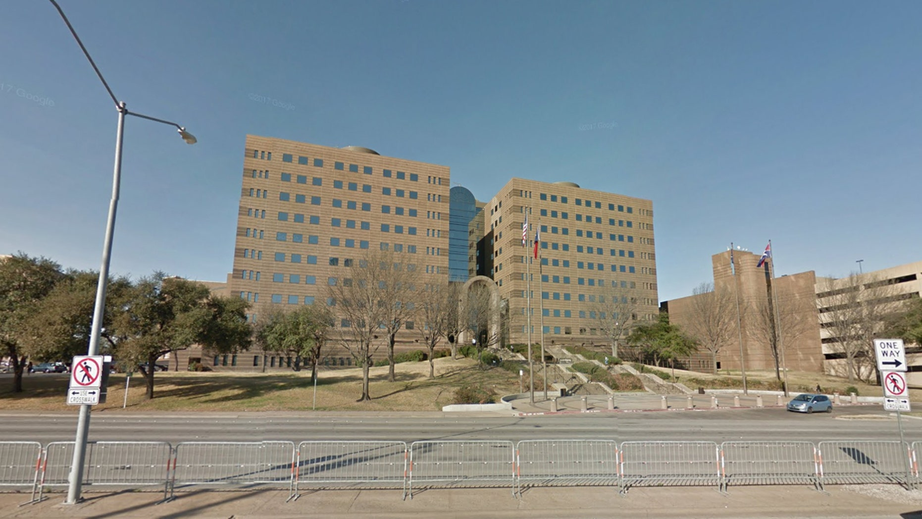 The Frank Crowley Courts Building in Dallas, where the Dallas County District Attorney's Office is located.