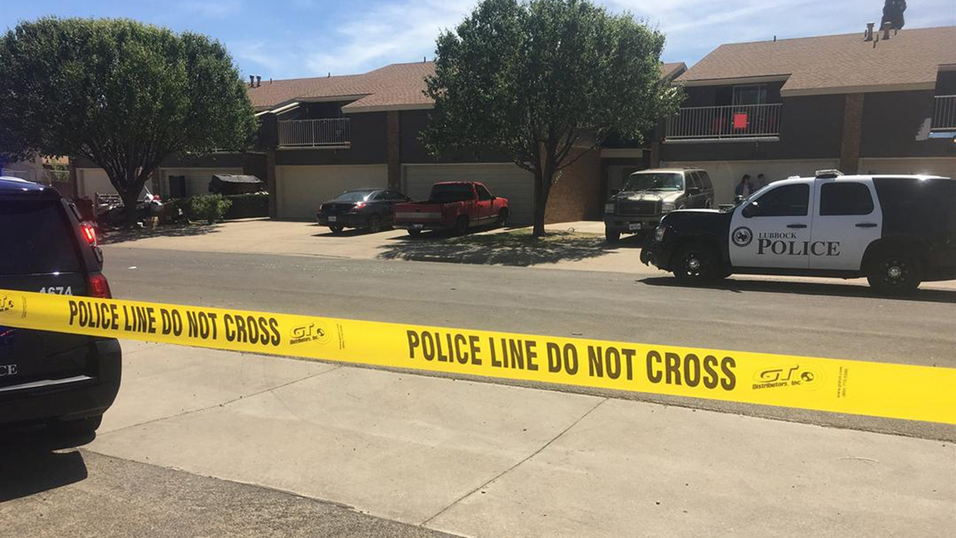 Law enforcement in Lubbock are actively searching for a suspect accused of injuring three officers responding to a domestic disturbance